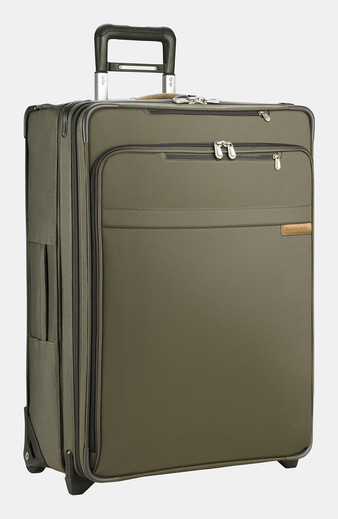 Large Baseline Expandable 27-Inch Rolling Packing Case,                         Main,                         color, Olive