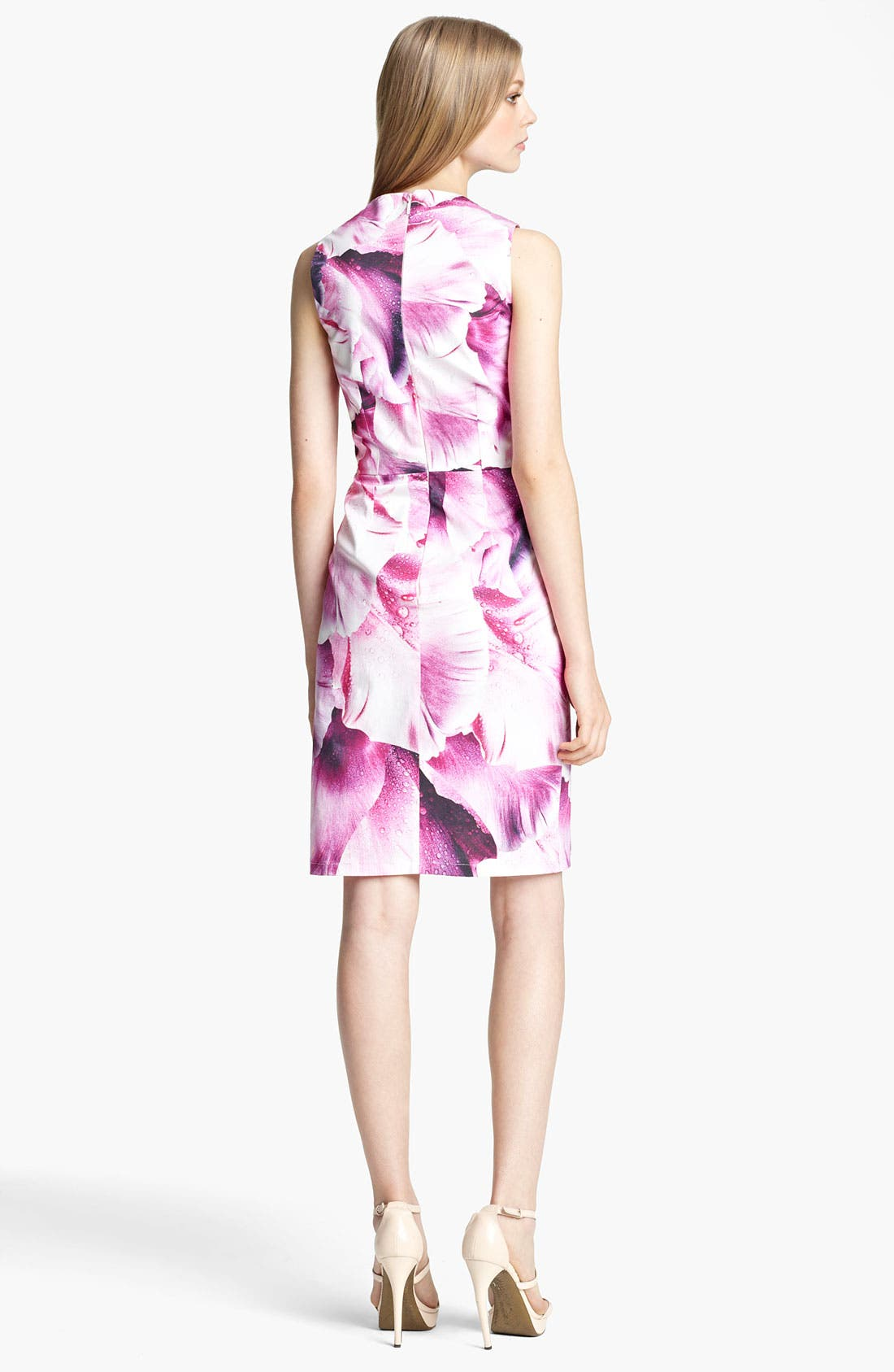 Alternate Image 2  - Roberto Cavalli Print Stretch Cotton Dress
