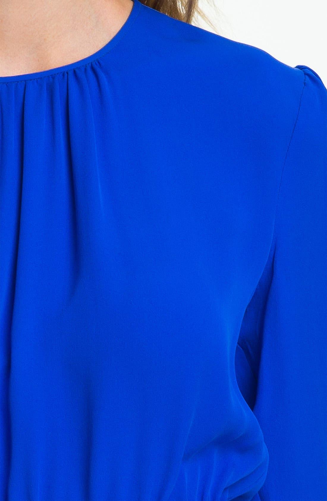 Alternate Image 3  - Theory 'Jethra' Peplum Silk Blouse