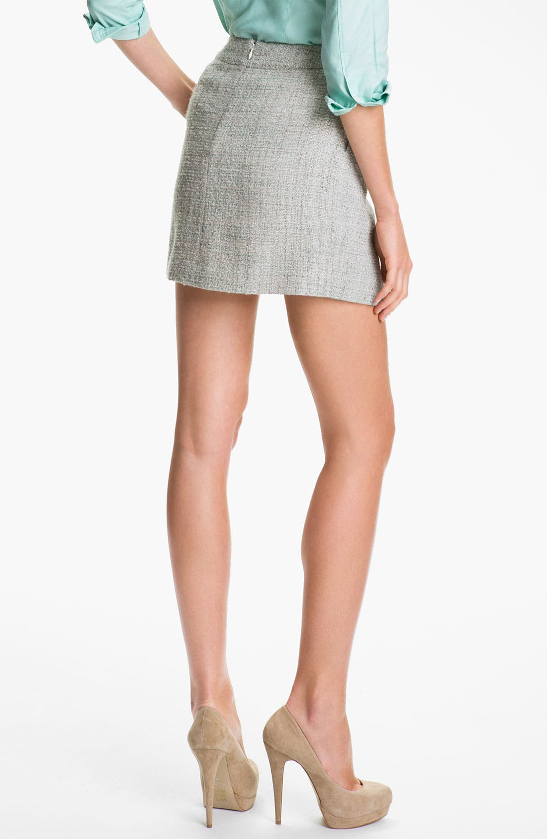Alternate Image 2  - Theory 'Chablis' Tweed Miniskirt (Online Exclusive)