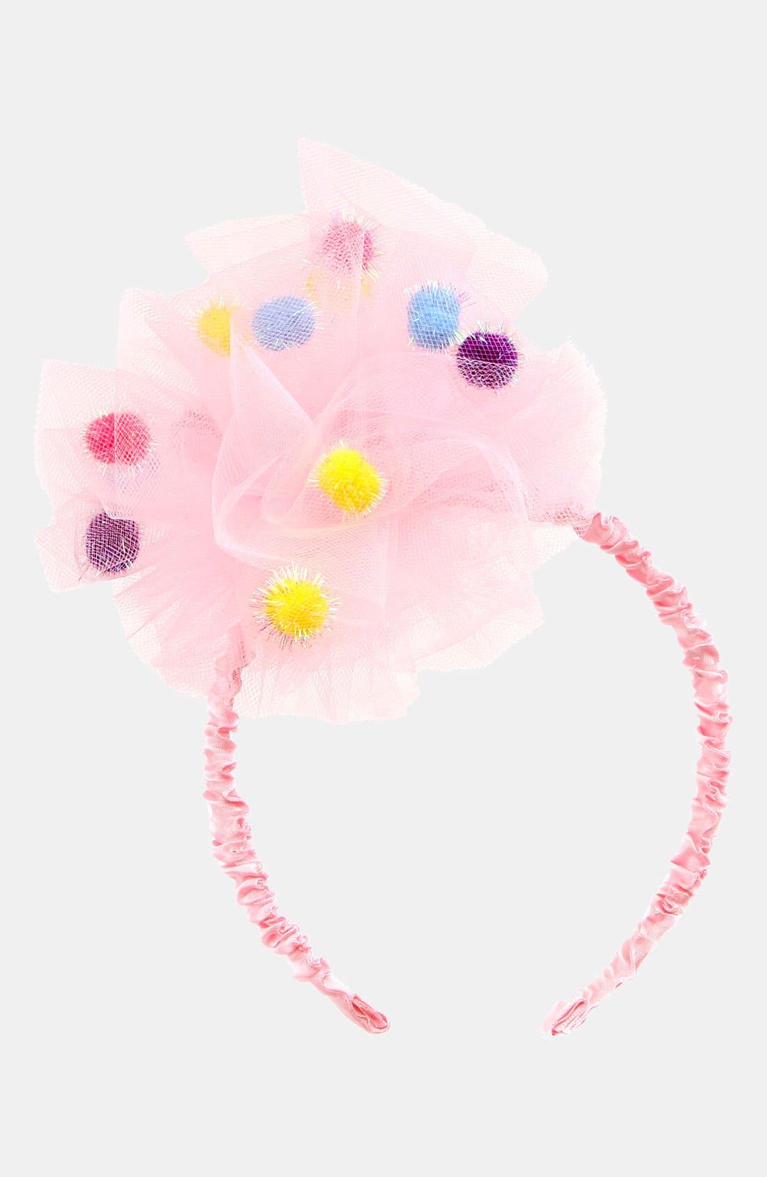 Alternate Image 1 Selected - Puppet Workshop Pompom Headband (Girls)