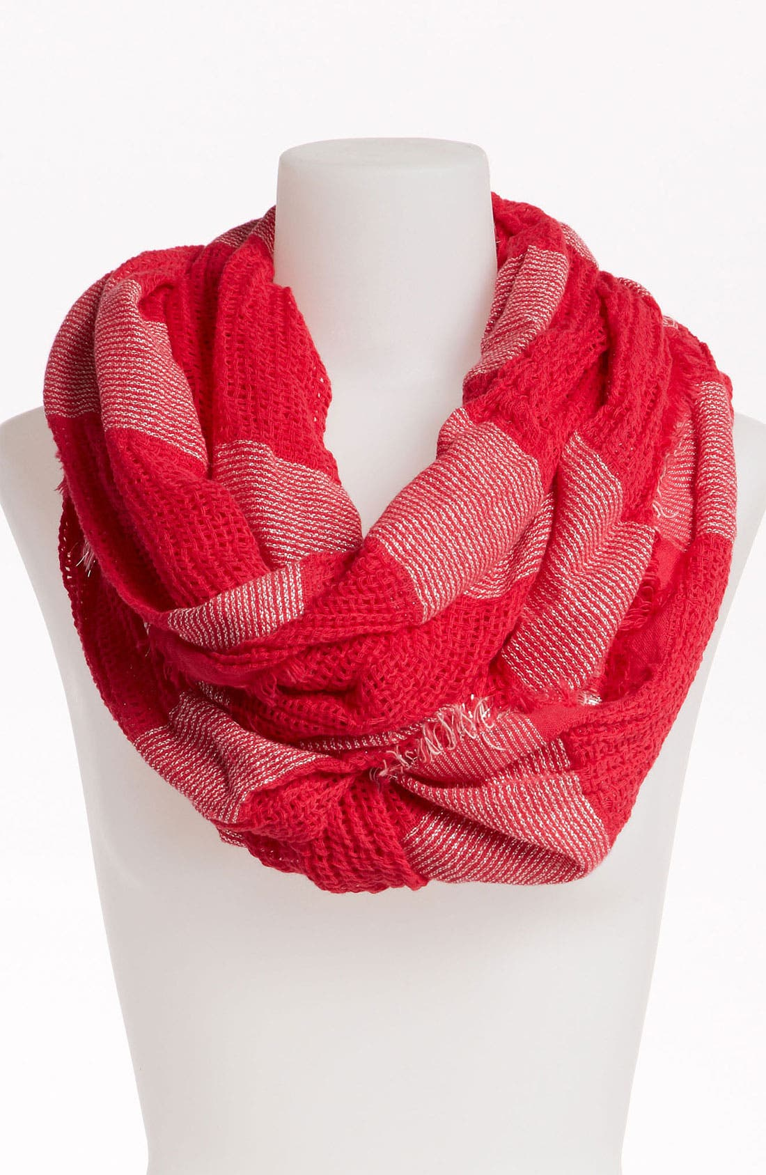 Main Image - BP. Shimmer Stripe Infinity Scarf