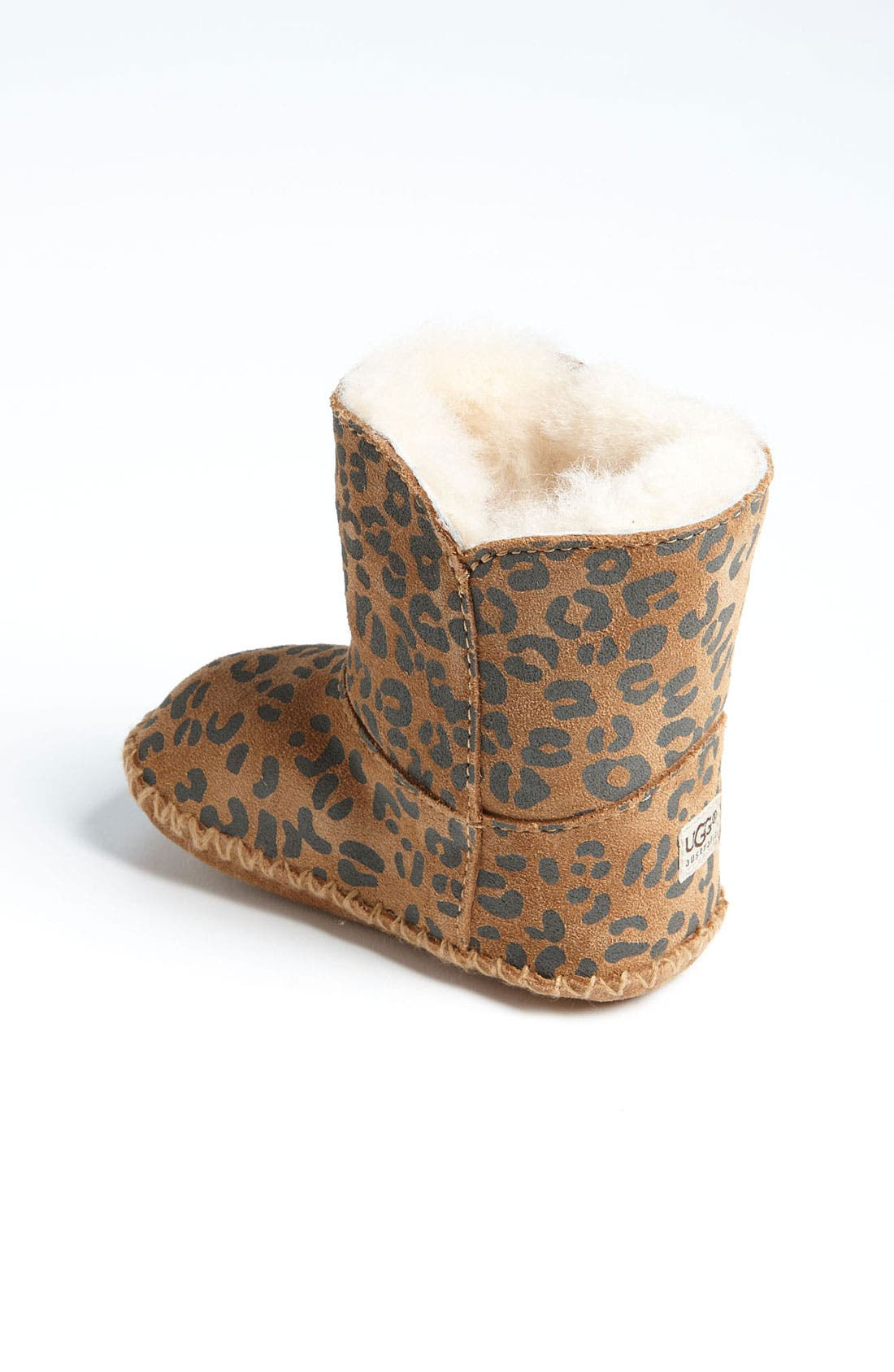 Alternate Image 2  - UGG® 'Cassie' Leopard Print Boot (Baby & Walker)