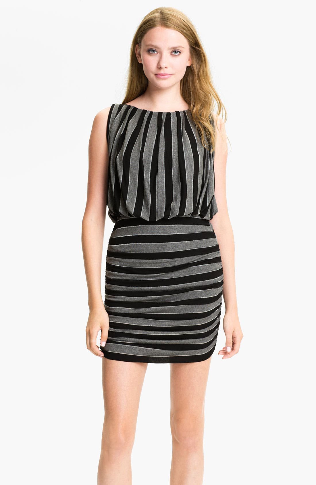 Alternate Image 1 Selected - B44 Dressed by Bailey 44 Striped Blouson Dress