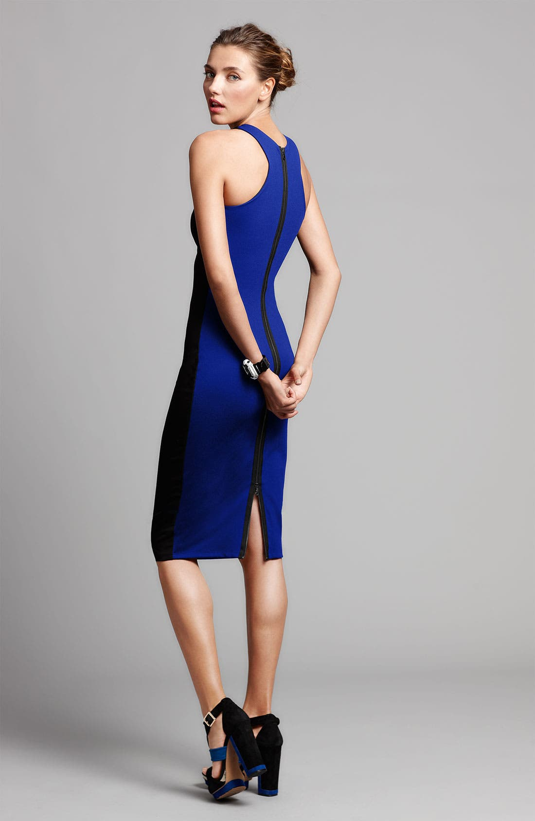 Alternate Image 3  - Felicity & Coco Colorblock Racerback Sheath Dress (Nordstrom Exclusive)