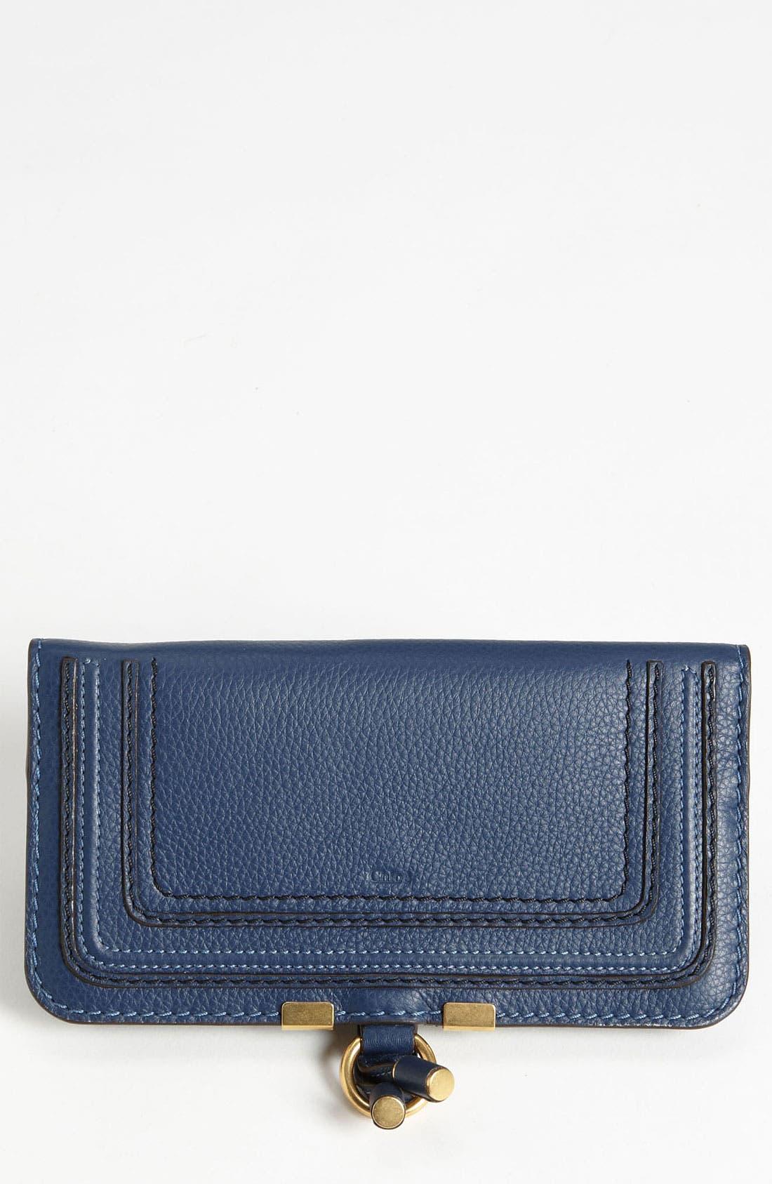 'Marcie' Continental Snap Wallet,                         Main,                         color, Royal