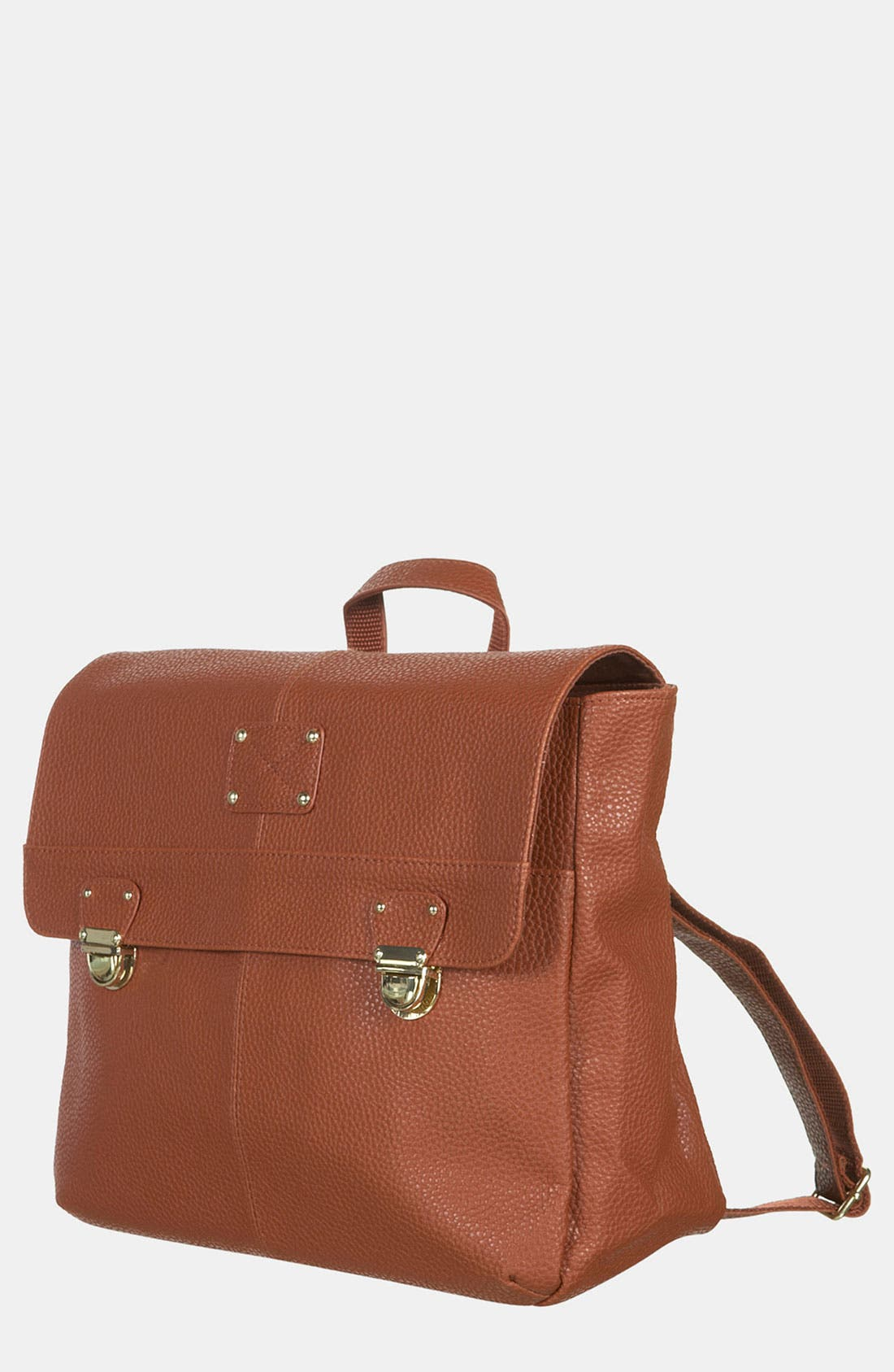 Alternate Image 1 Selected - Topshop Push Lock Satchel