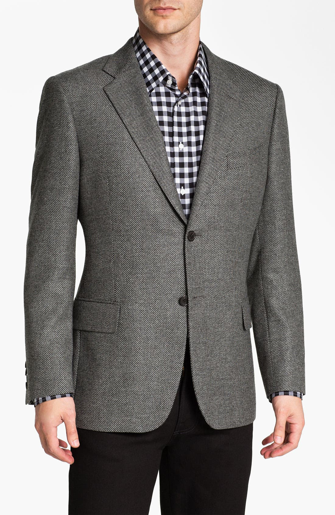 Alternate Image 1 Selected - John W. Nordstrom® Signature Cashmere Blazer