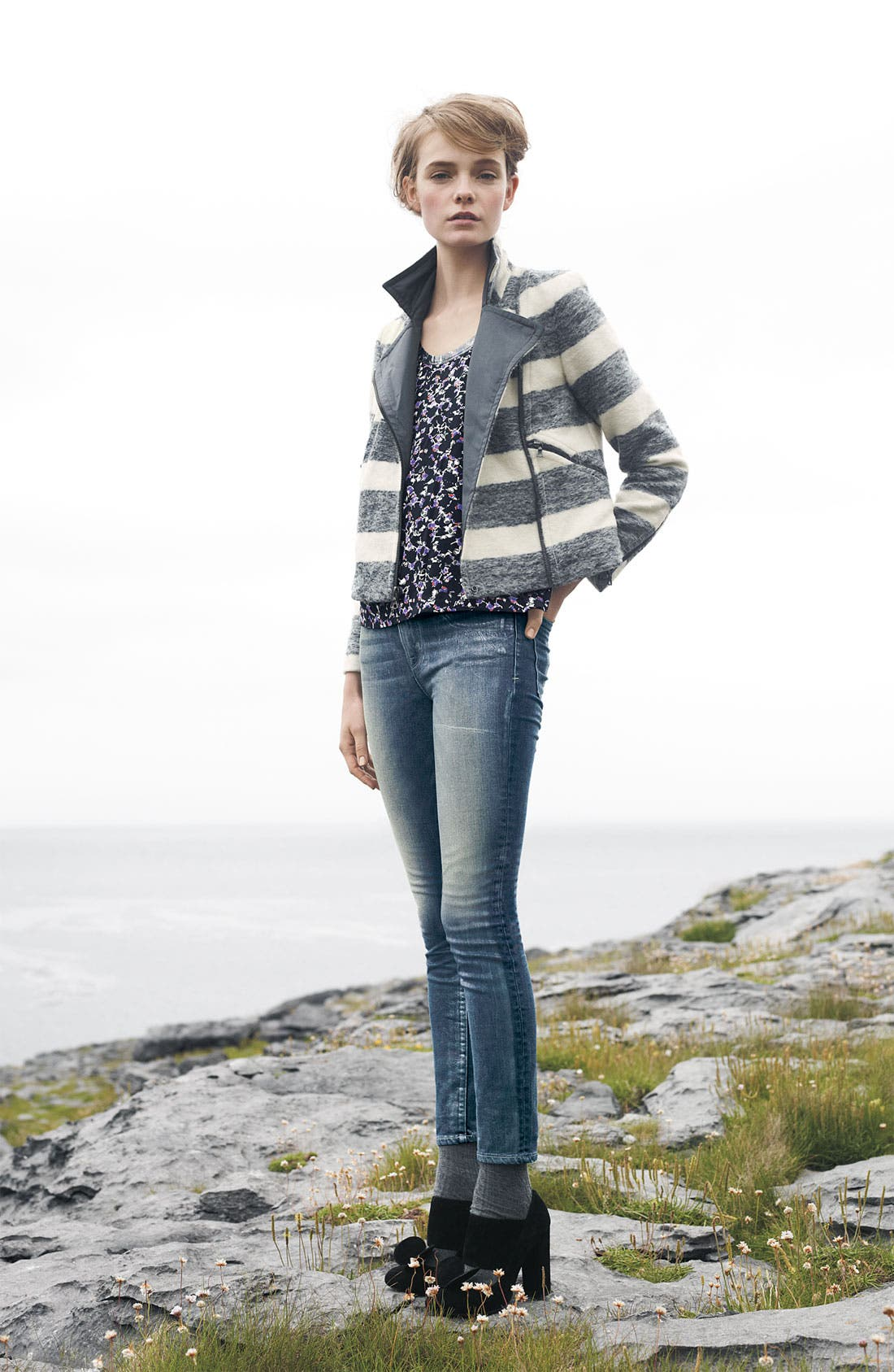 Alternate Image 4  - MARC BY MARC JACOBS 'Sofie' Cigarette Jeans (Vintage Pearl)