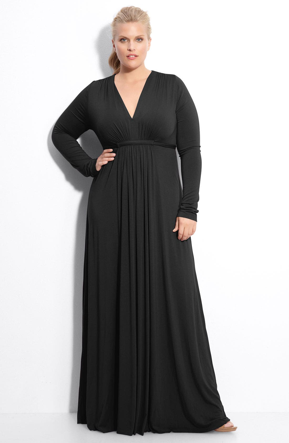 Main Image - Rachel Pally Long Sleeve Maxi Dress (Plus)