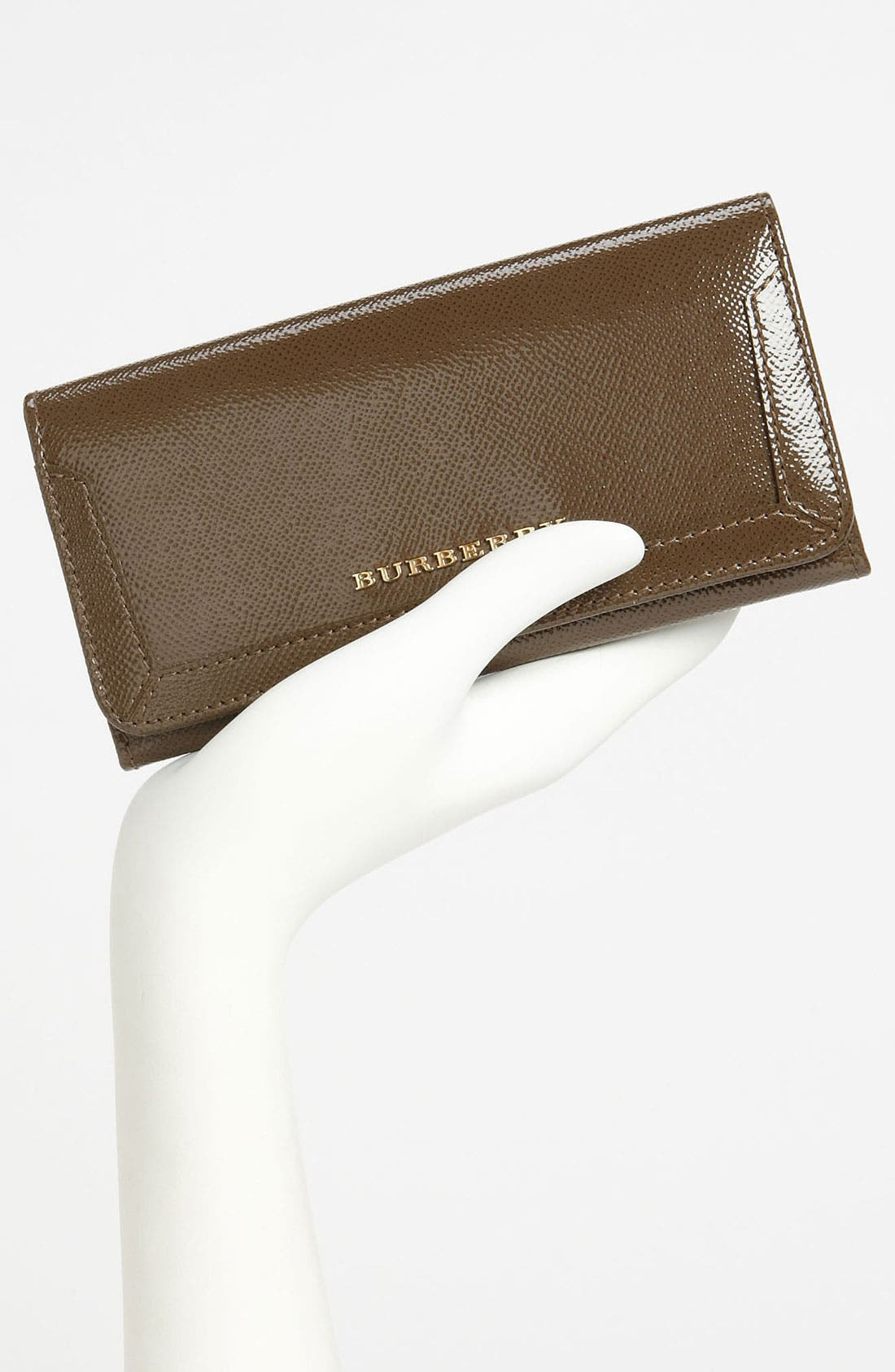 Alternate Image 2  - Burberry Patent Leather Wallet