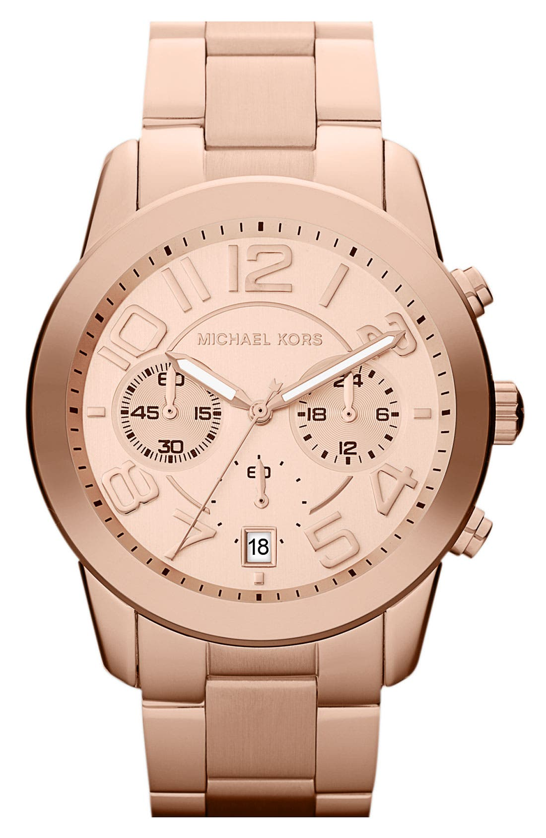 Alternate Image 1 Selected - Michael Kors 'Mercer' Chronograph Bracelet Watch, 41mm