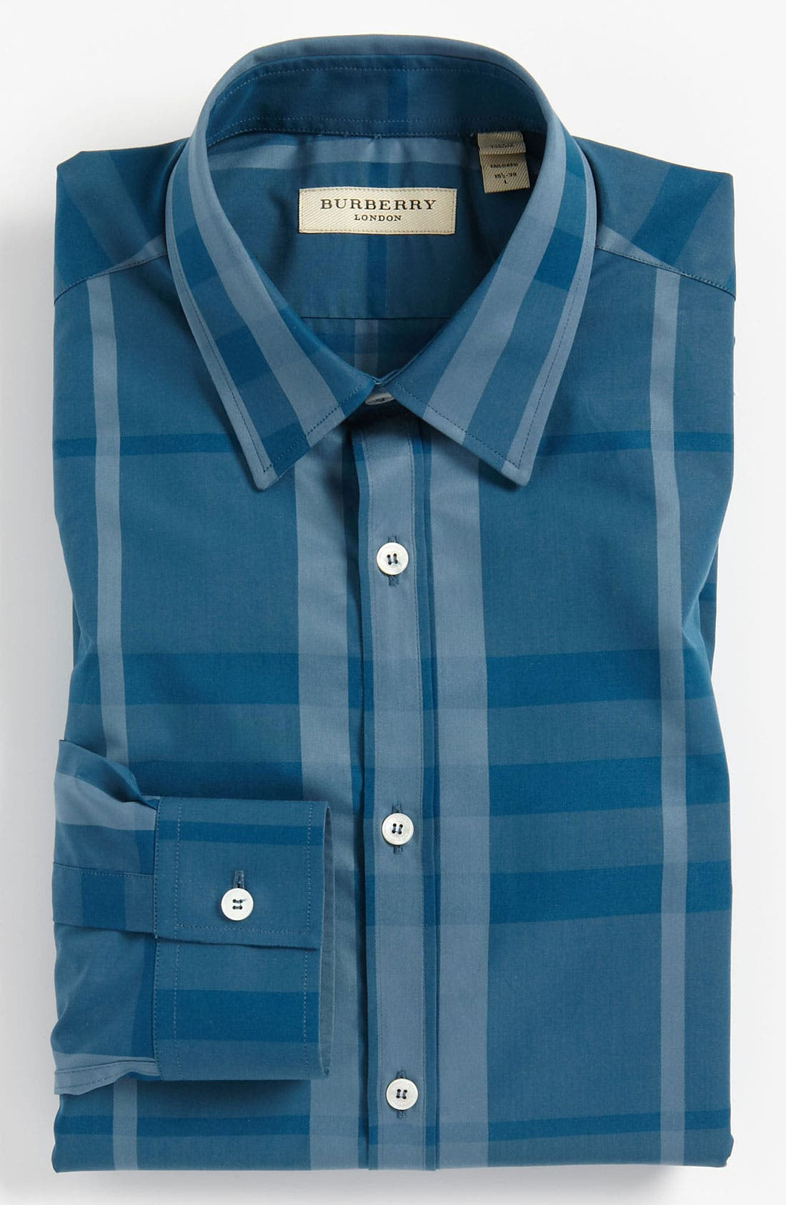 Main Image - Burberry London Modern Fit Dress Shirt