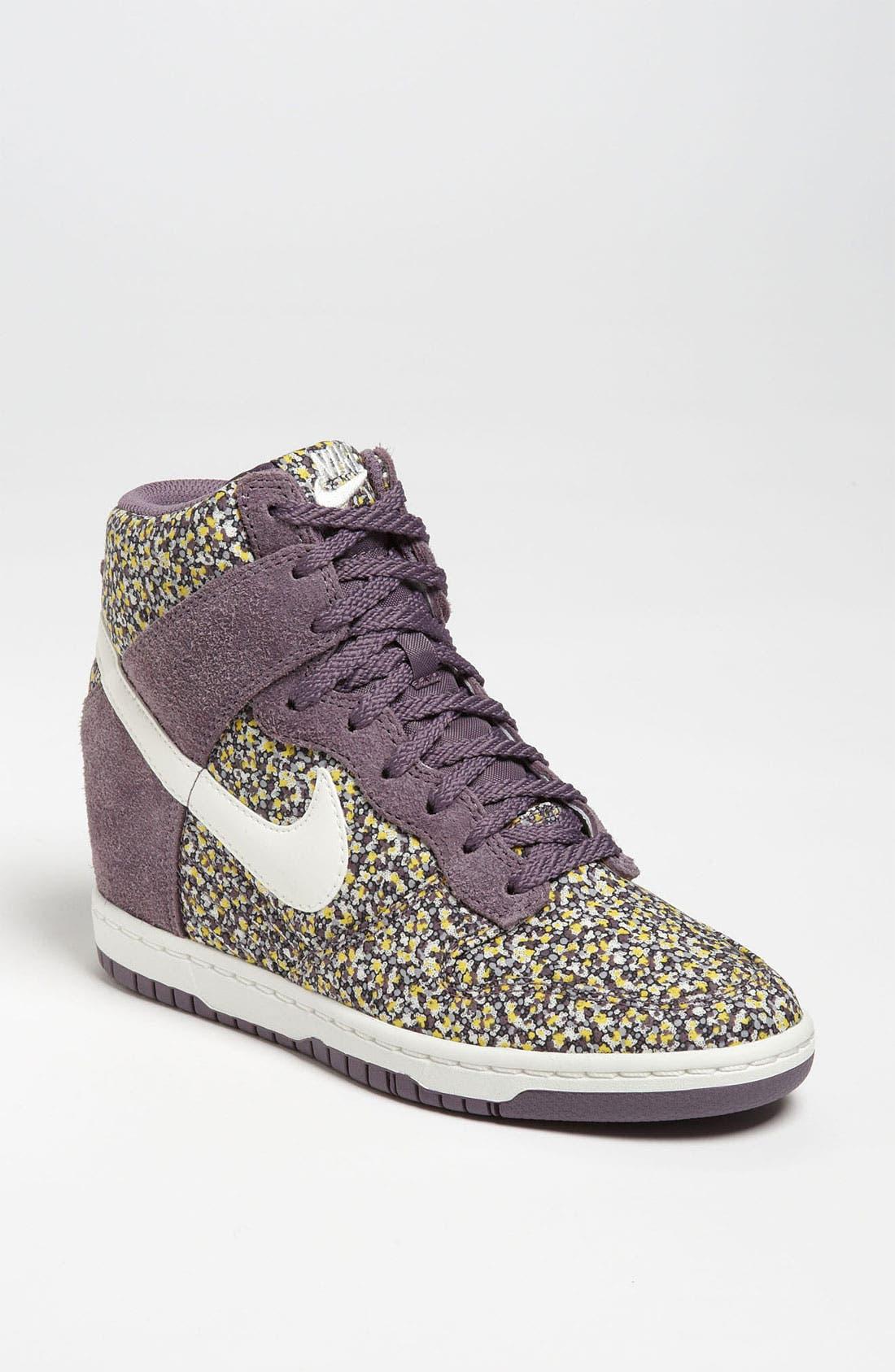 Main Image - Nike 'Dunk Sky Hi Liberty' Hidden Wedge Sneaker (Women)