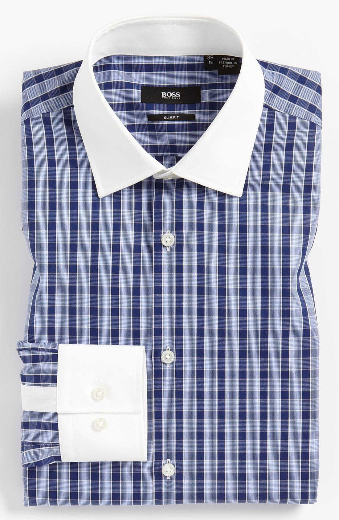 Alternate Image 1 Selected - BOSS Black Slim Fit Dress Shirt