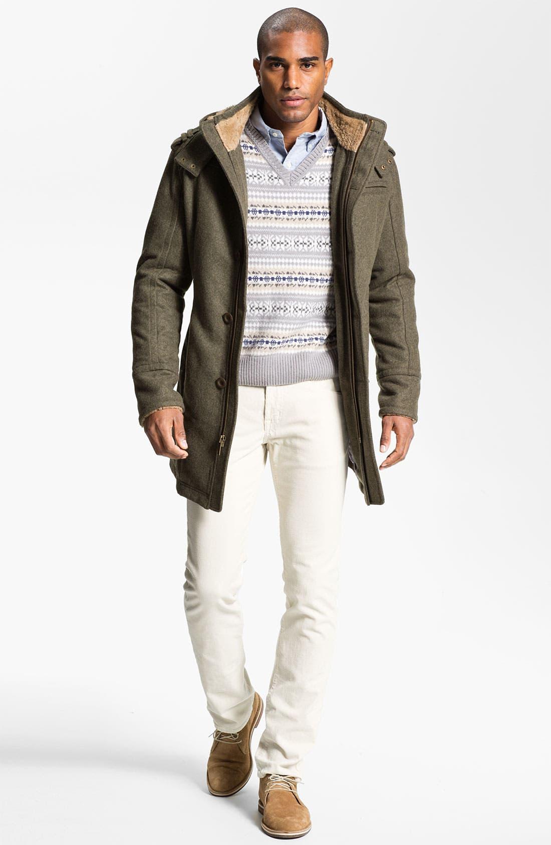Alternate Image 4  - Fausto Reali Vannucci V-Neck Merino Wool & Cashmere Sweater