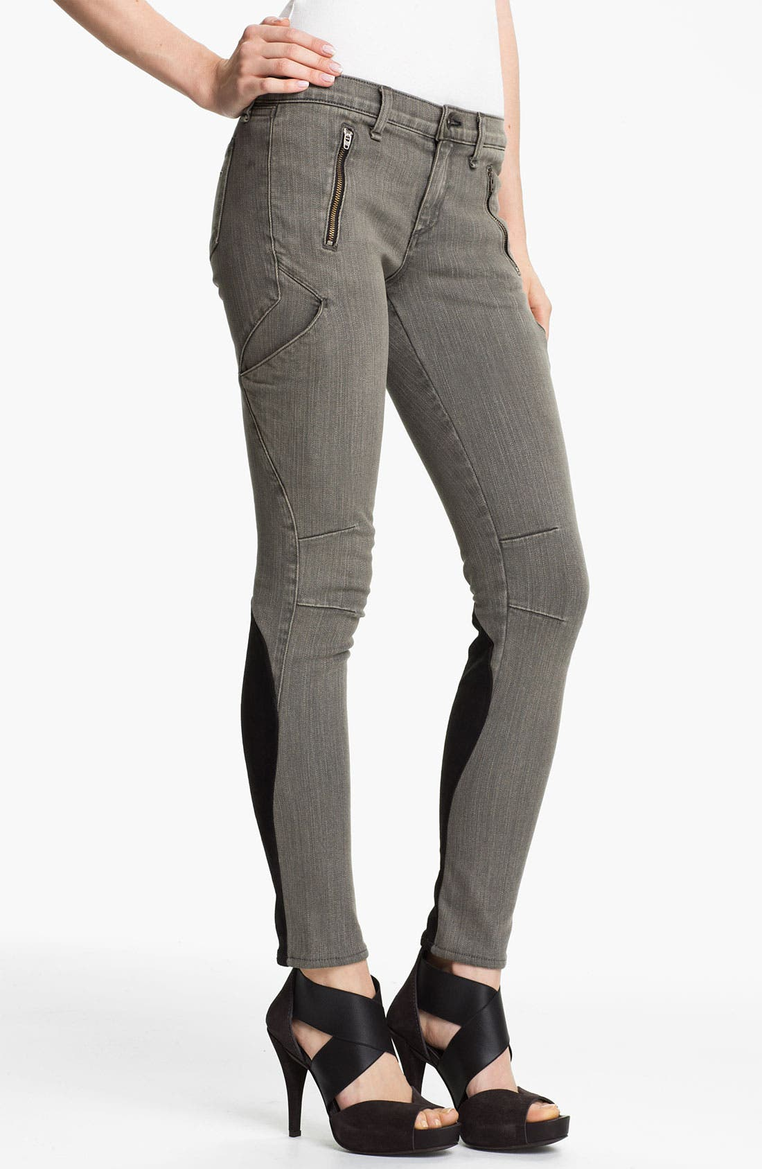 Alternate Image 2  - rag & bone 'Rally' Cargo Skinny Stretch Jeans