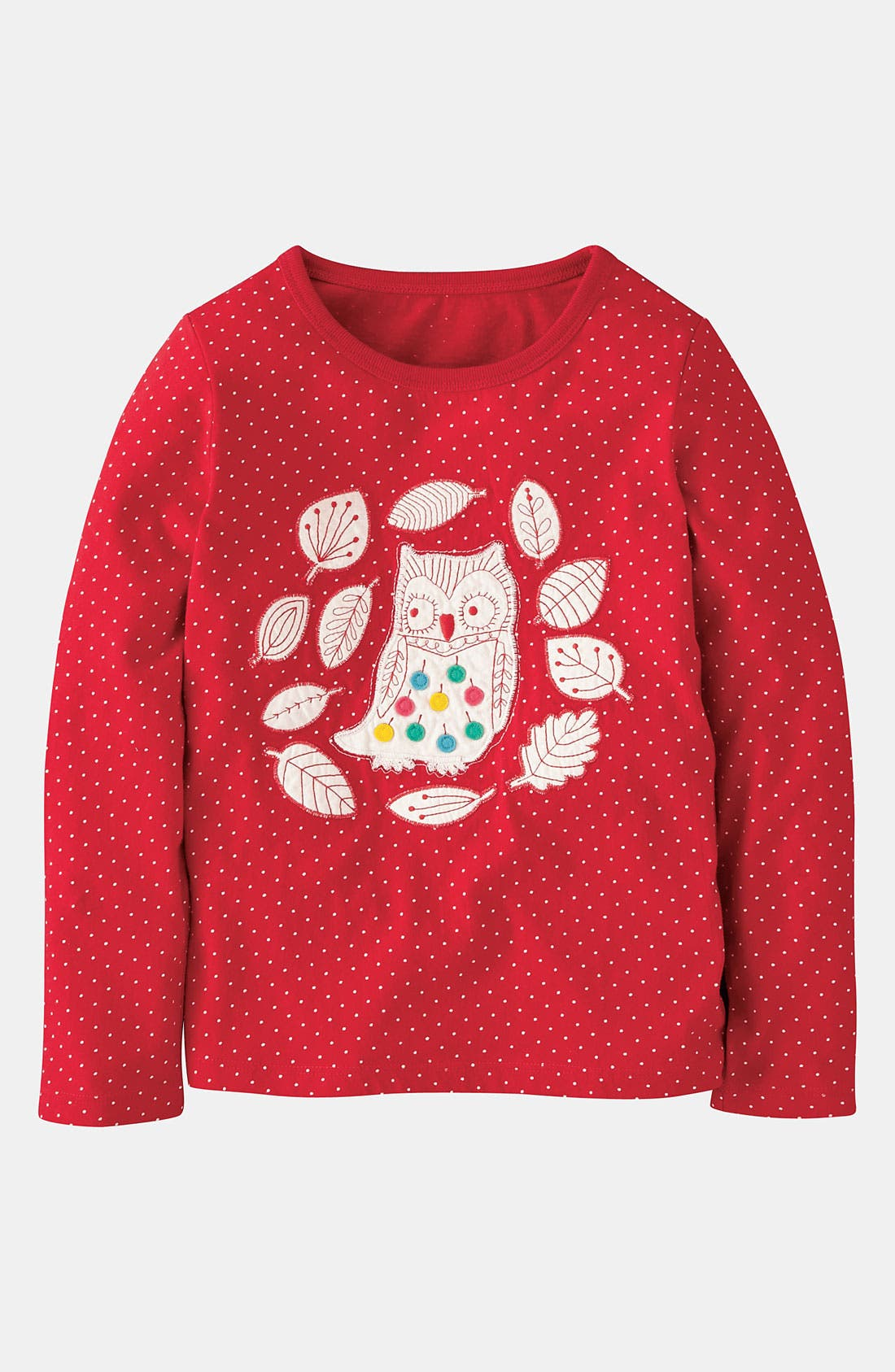 Main Image - Mini Boden 'Nordic Appliqué' Tee (Toddler, Little Girls & Big Girls)