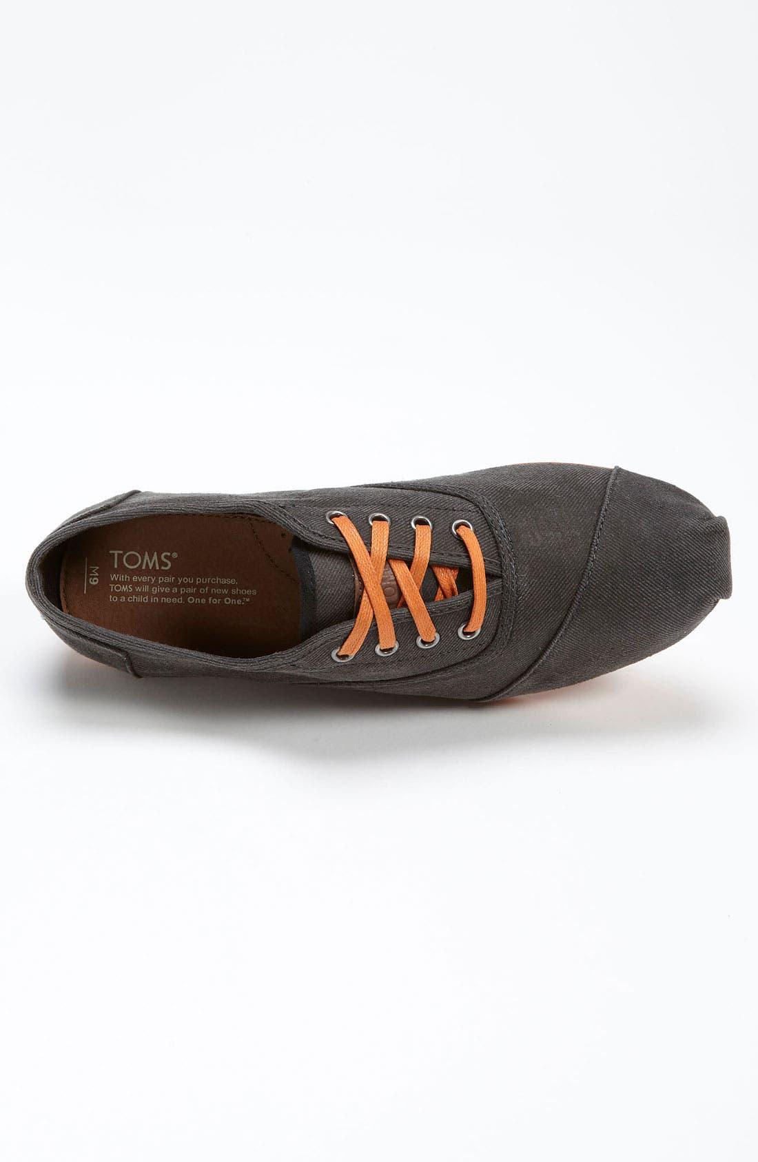Alternate Image 3  - TOMS 'Cordones' Twill Sneaker (Men) (Nordstrom Exclusive)