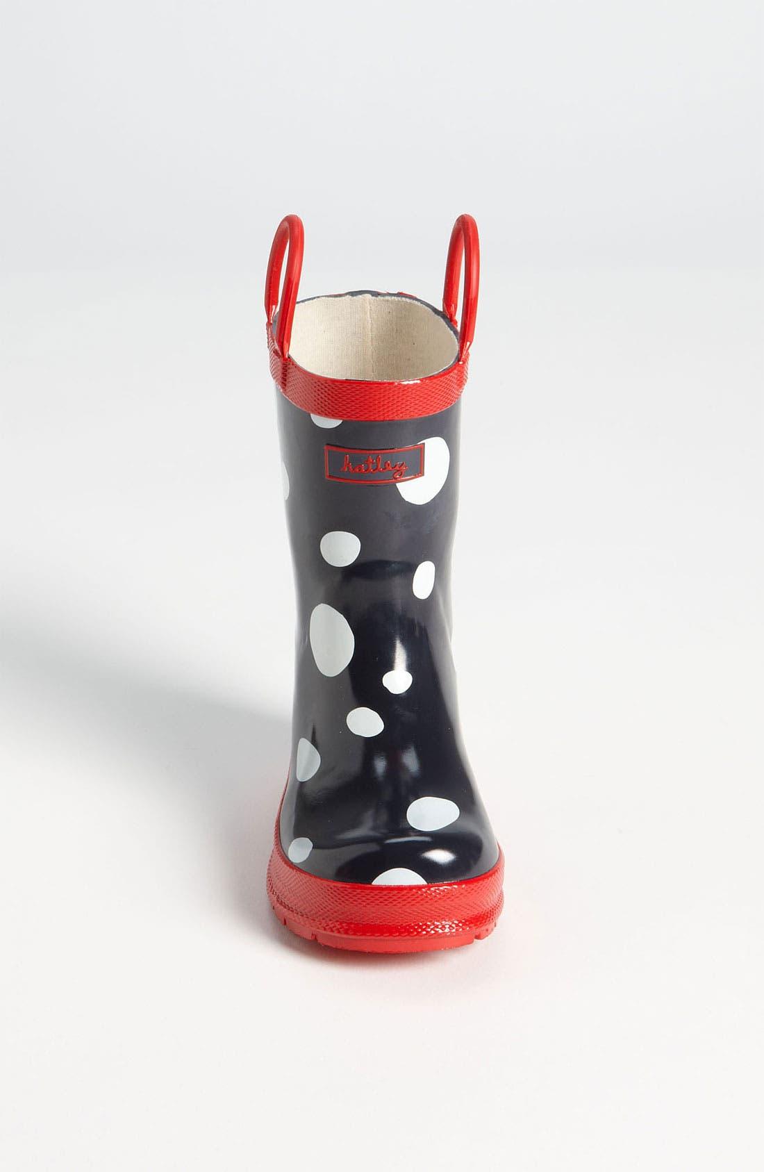 Alternate Image 3  - Hatley 'Snow Balls' Rain Boot (Walker, Toddler & Little Kid)