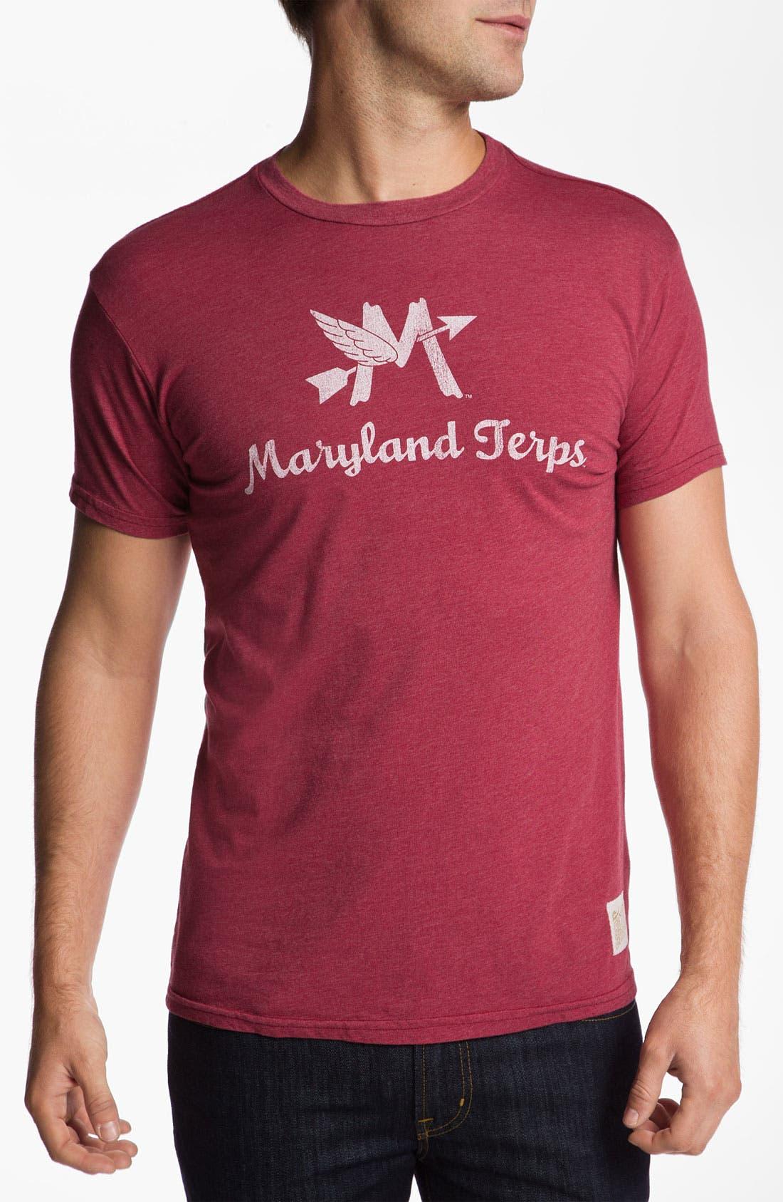 Main Image - The Original Retro Brand 'Maryland Terrapins' T-Shirt