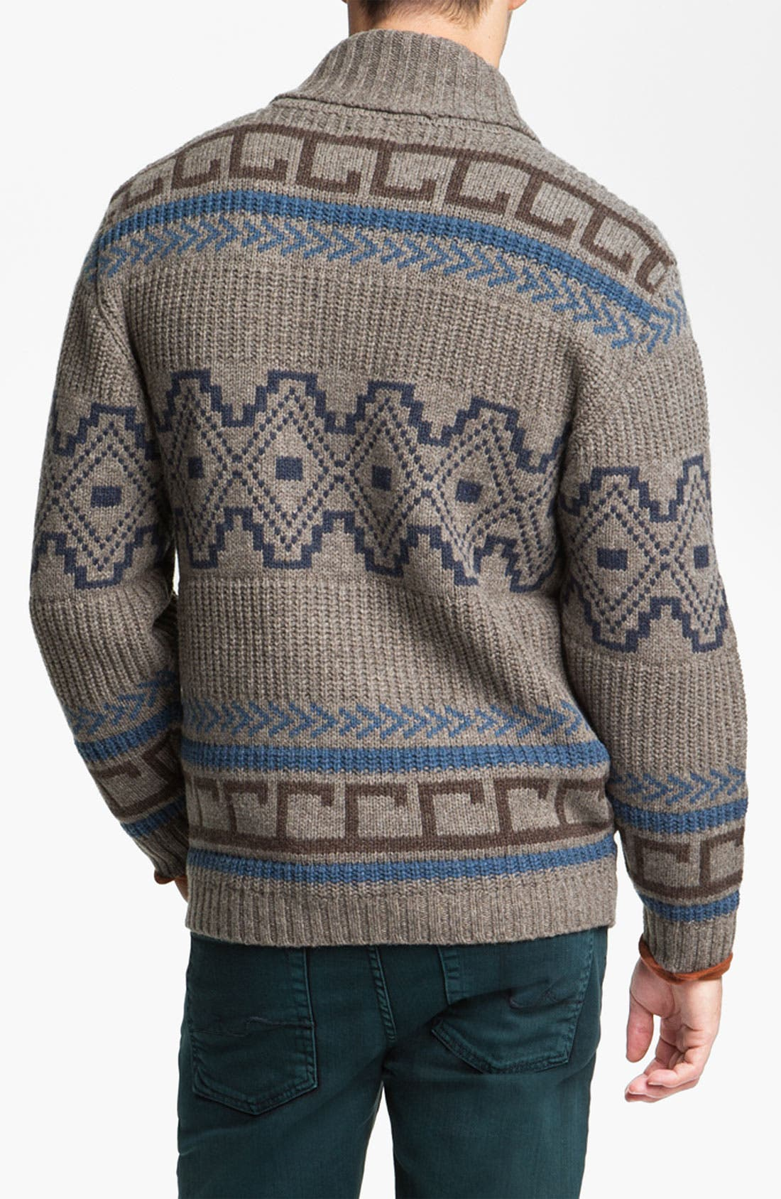 Alternate Image 2  - Pendleton Shawl Collar Sweater