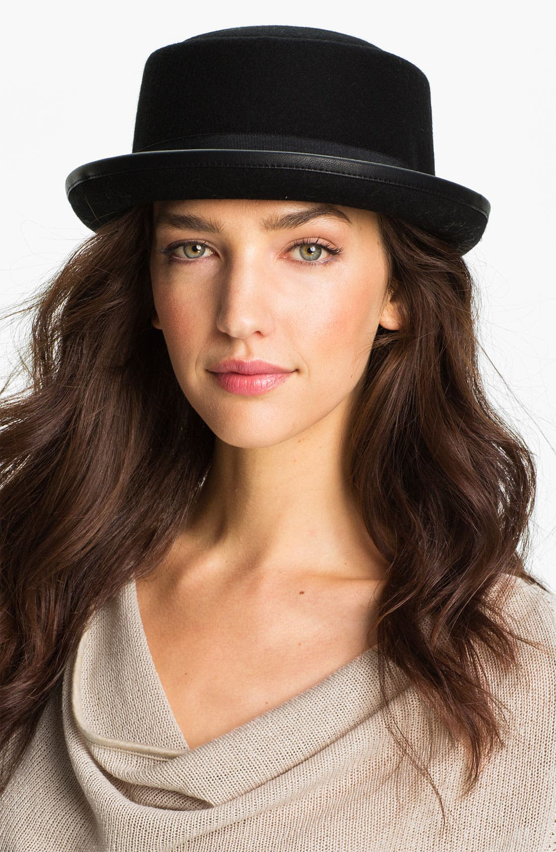 Alternate Image 1 Selected - Grace Hats Pork Pie Hat