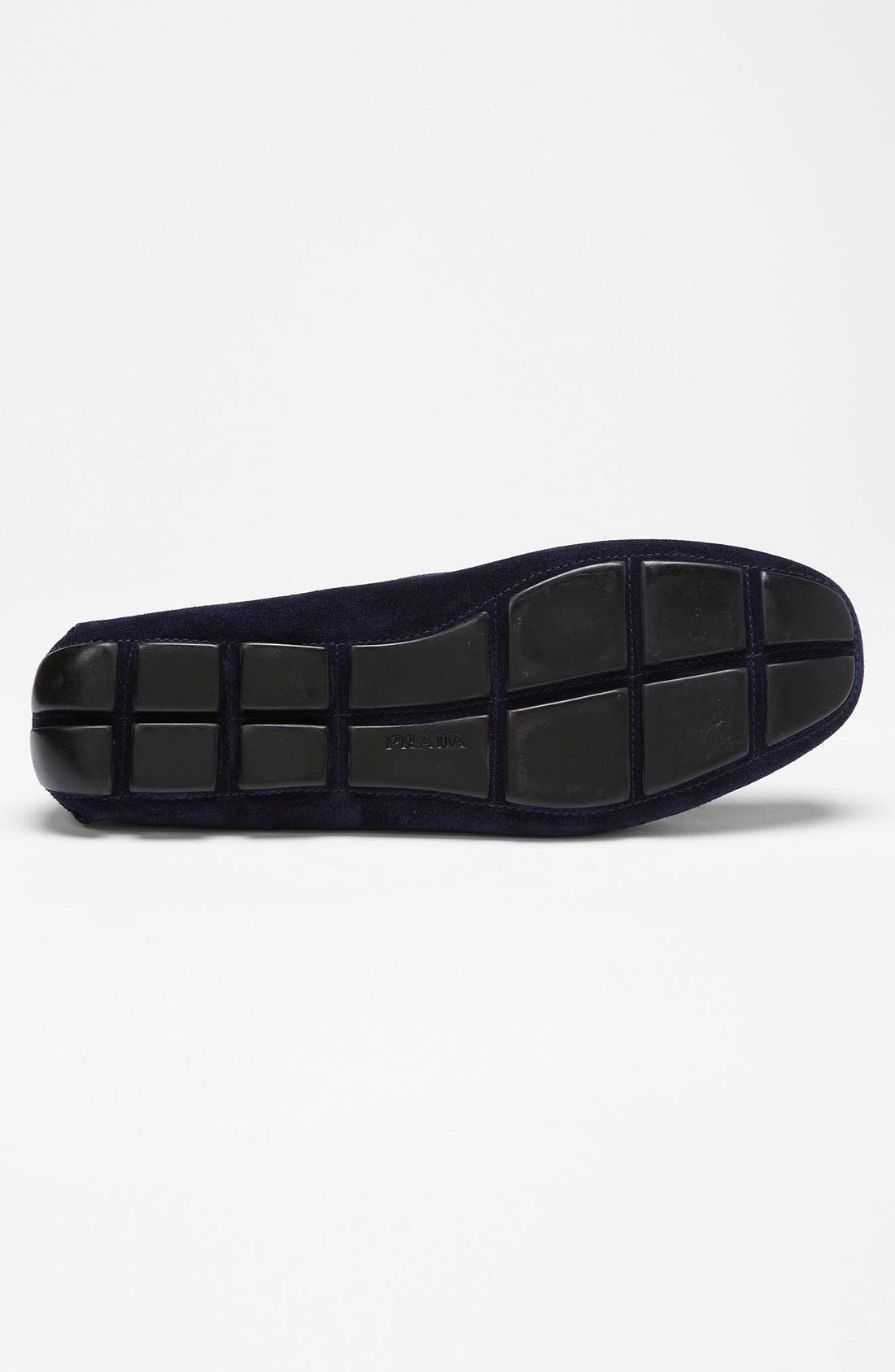 Alternate Image 4  - Prada Suede Driving Shoe
