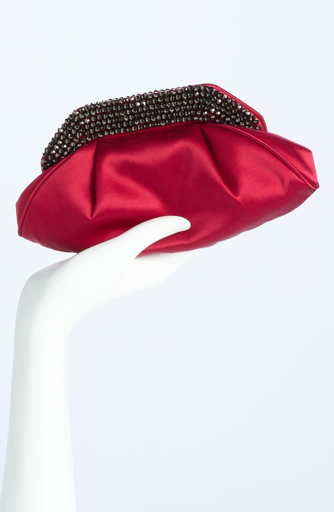 Alternate Image 2  - Sondra Roberts Glass Bead Collar Clutch