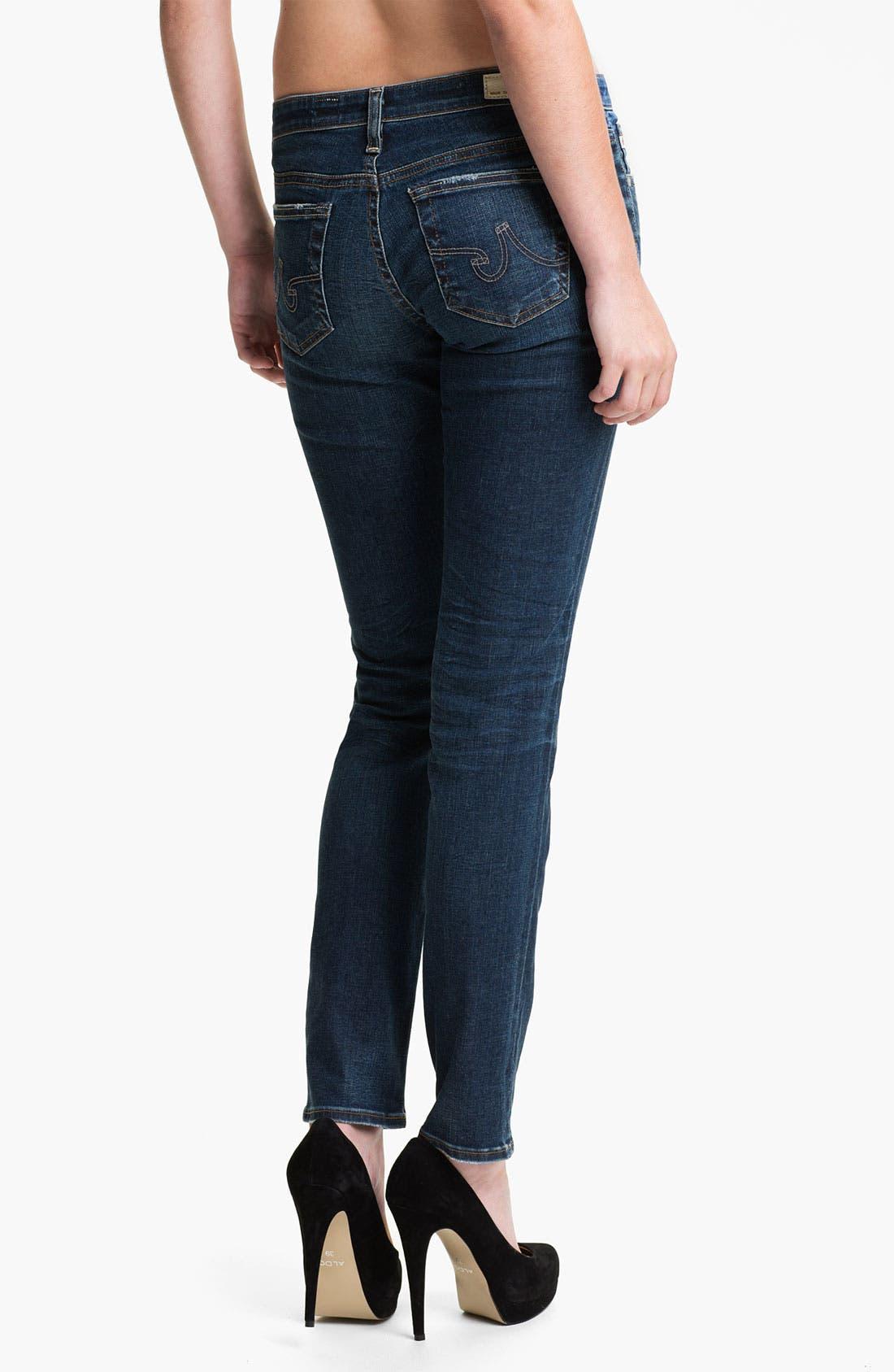 Alternate Image 2  - AG Jeans 'The Stilt' Cigarette Leg Jeans (Six Year Rinse)