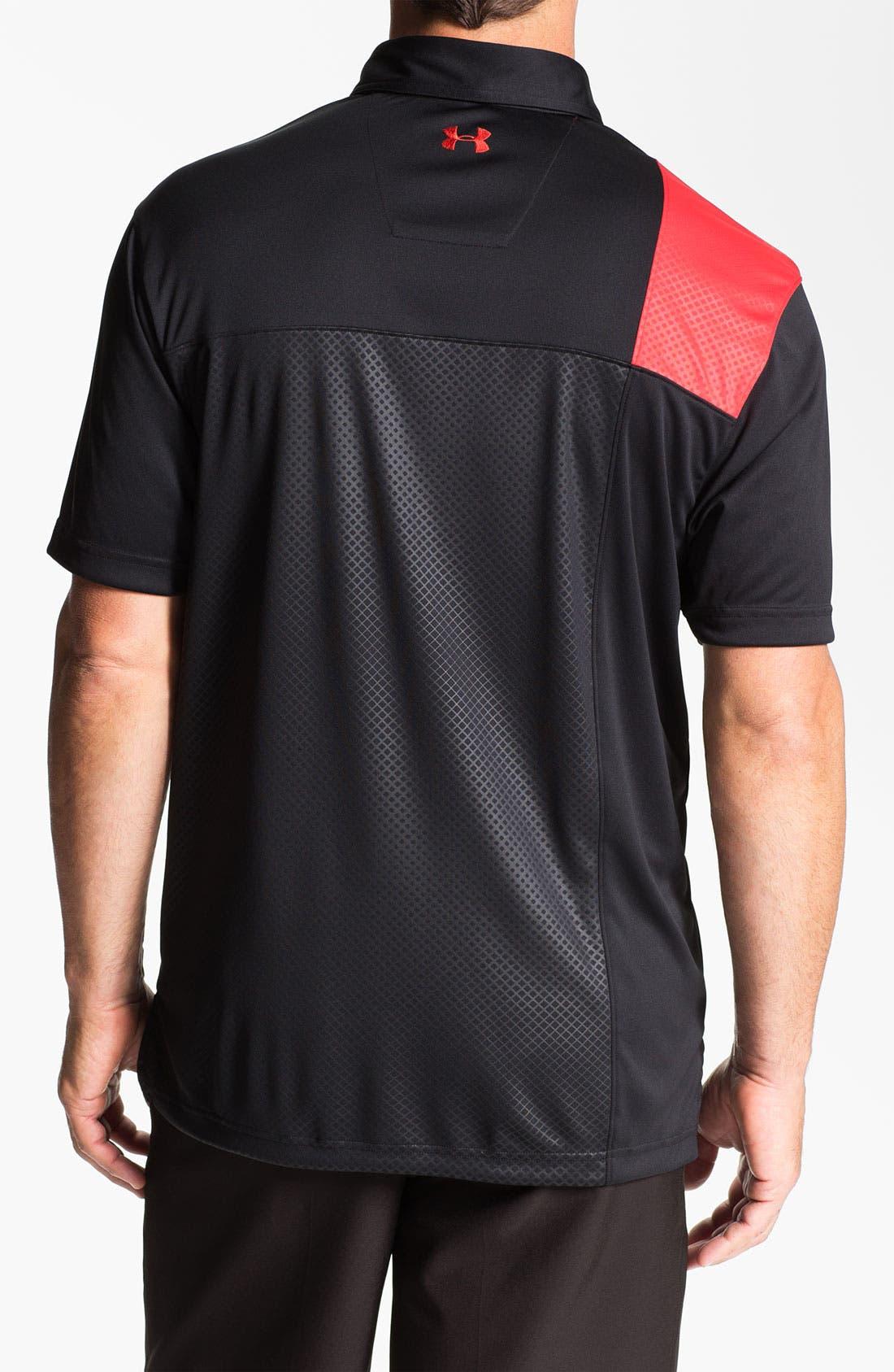 Alternate Image 2  - Under Armour HeatGear® UV Protection Performance Polo