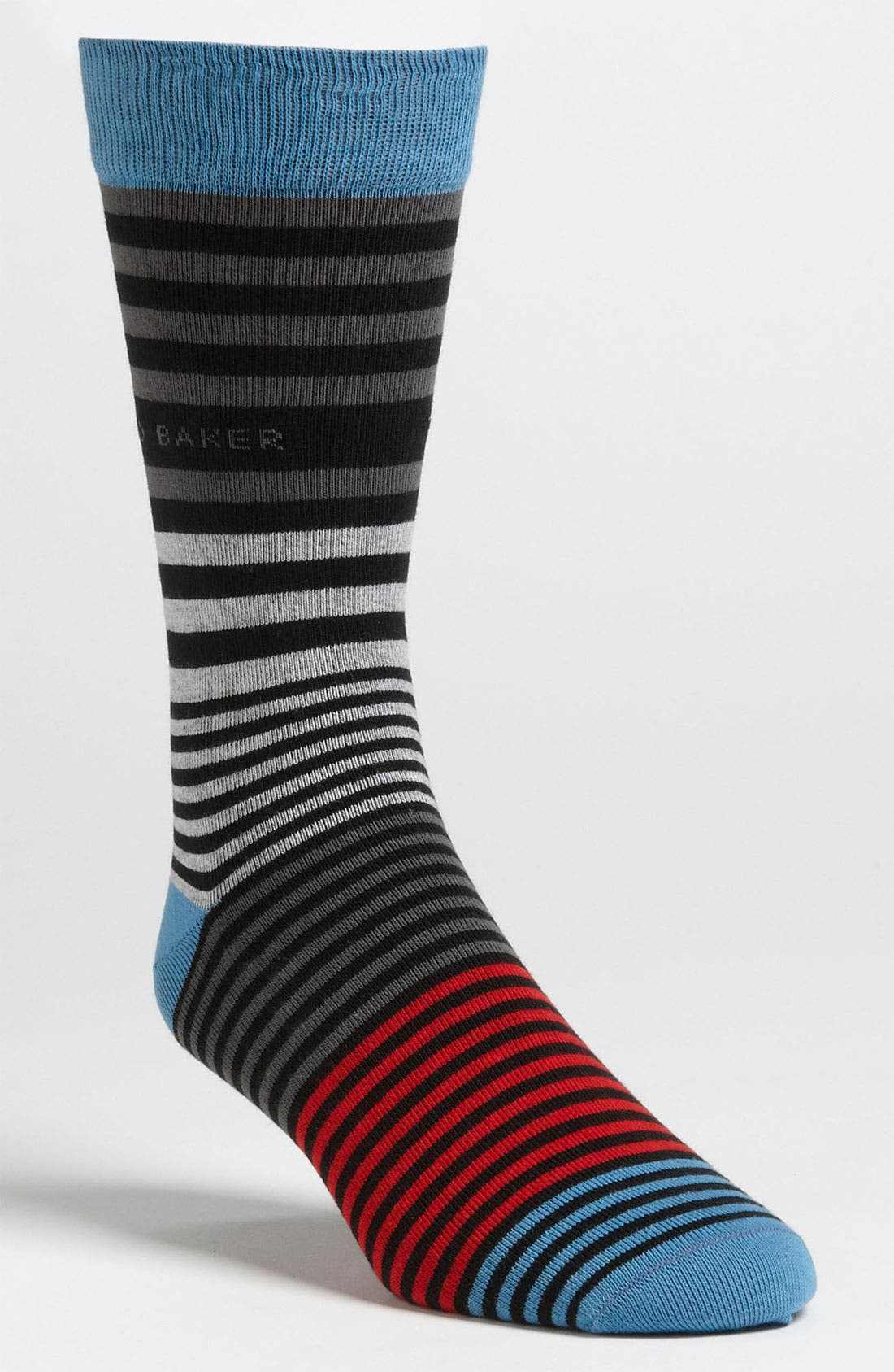 Alternate Image 1 Selected - Ted Baker London Stripe Socks