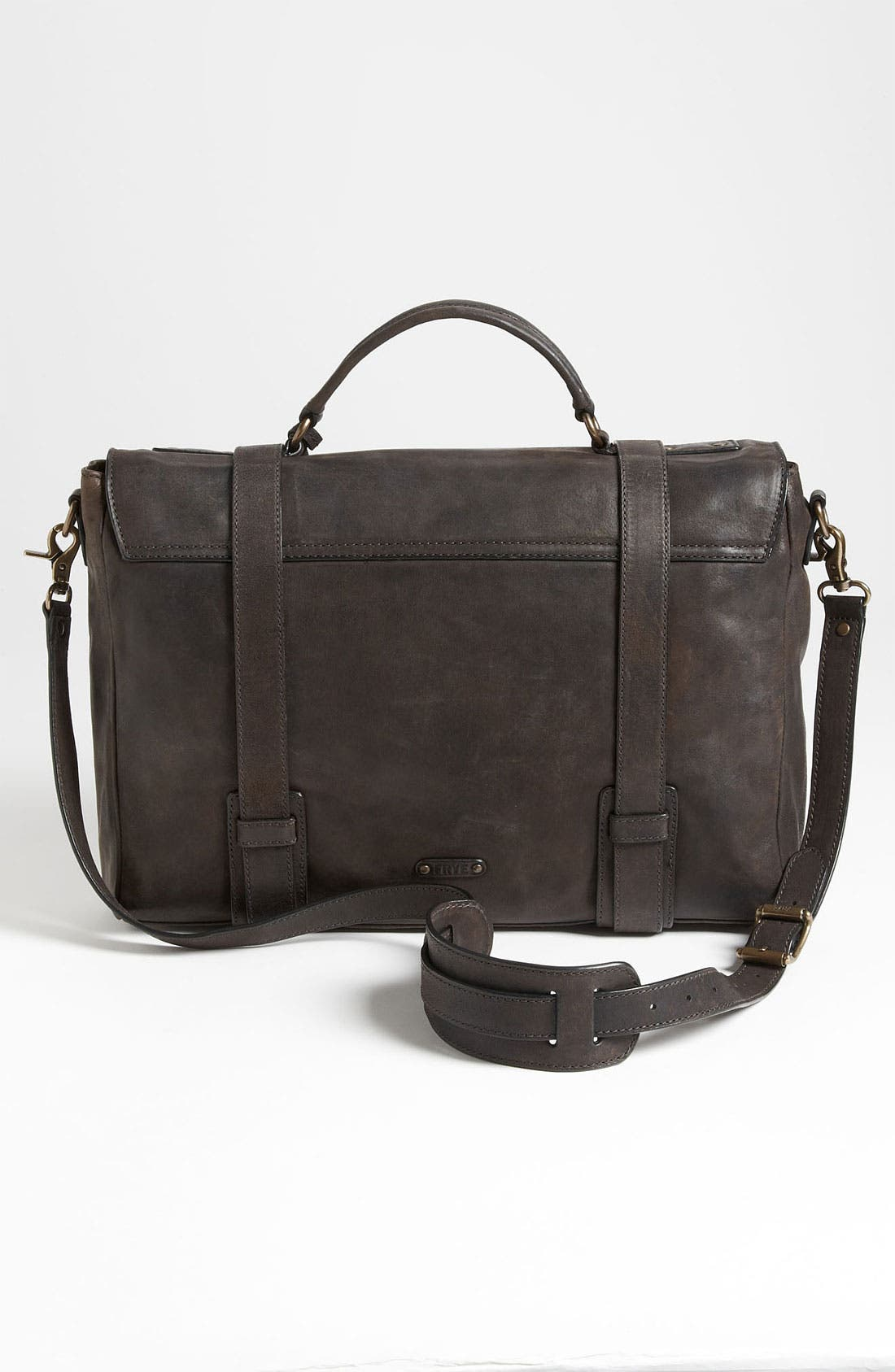 Alternate Image 4  - Frye 'Logan' Leather Flap Briefcase