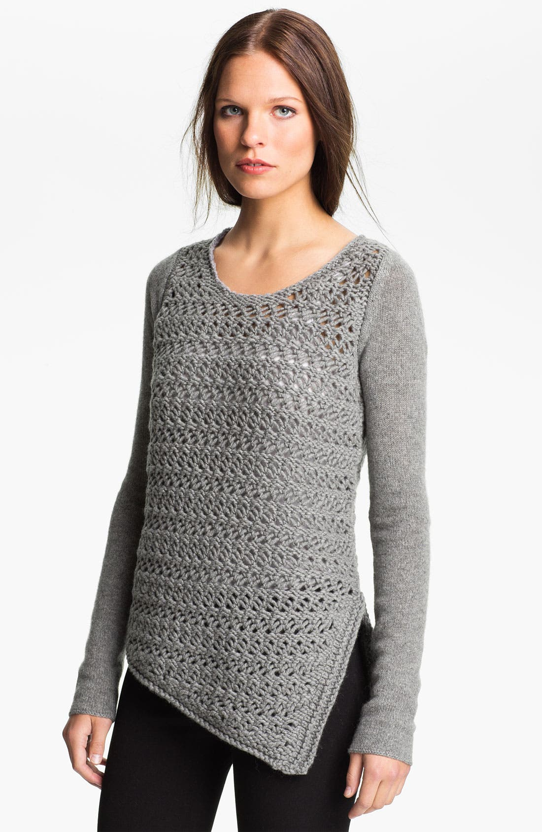 Alternate Image 1 Selected - Helmut Lang Wool & Cashmere Pullover Sweater