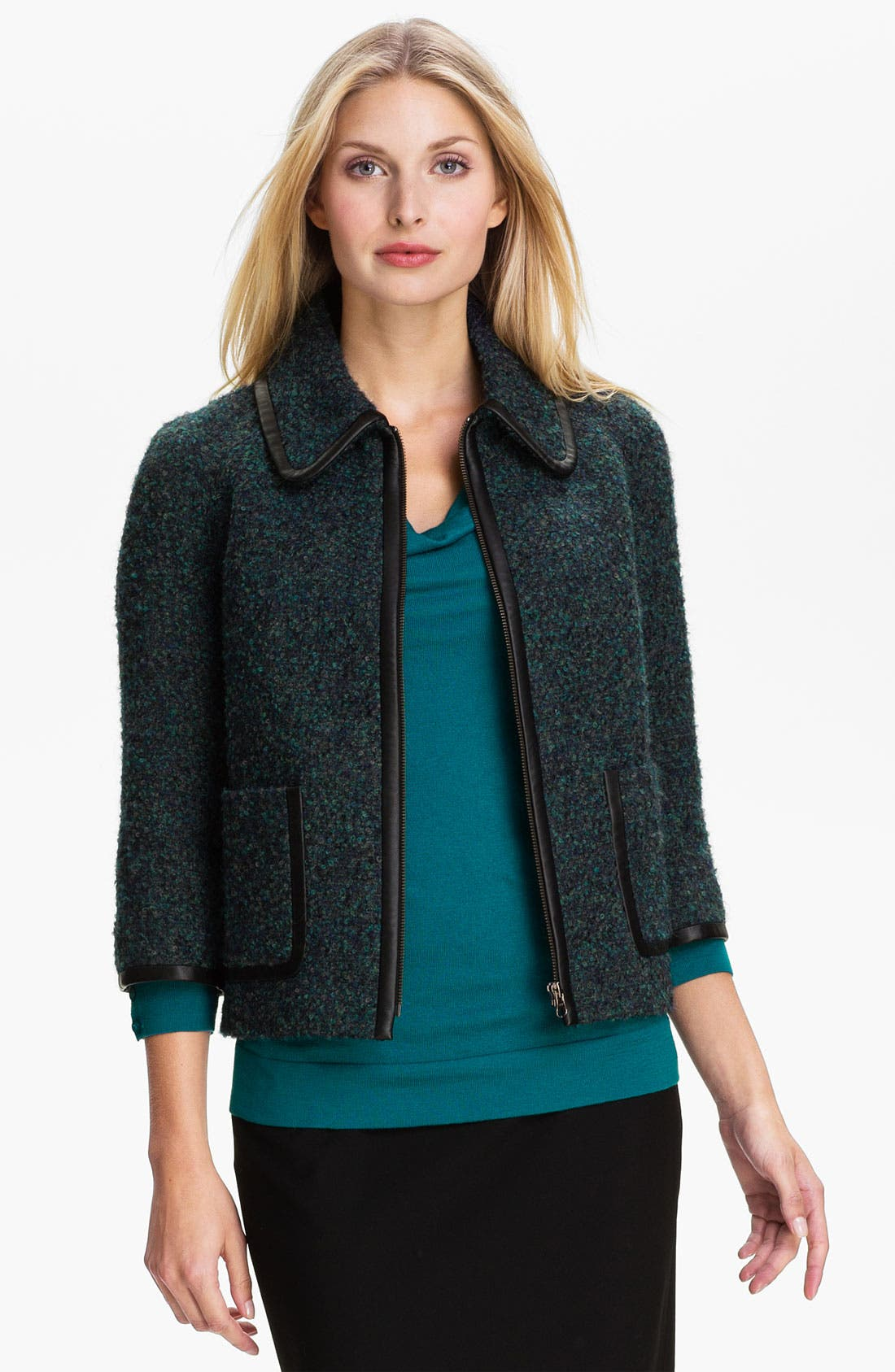 Alternate Image 1 Selected - Classiques Entier® 'Carla' Bouclé Jacket