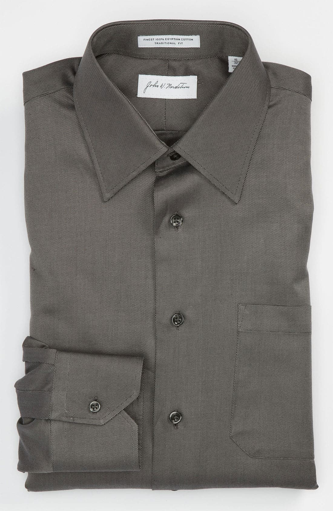 Alternate Image 1 Selected - John W. Nordstrom Traditional Fit Dress Shirt (Online Only)