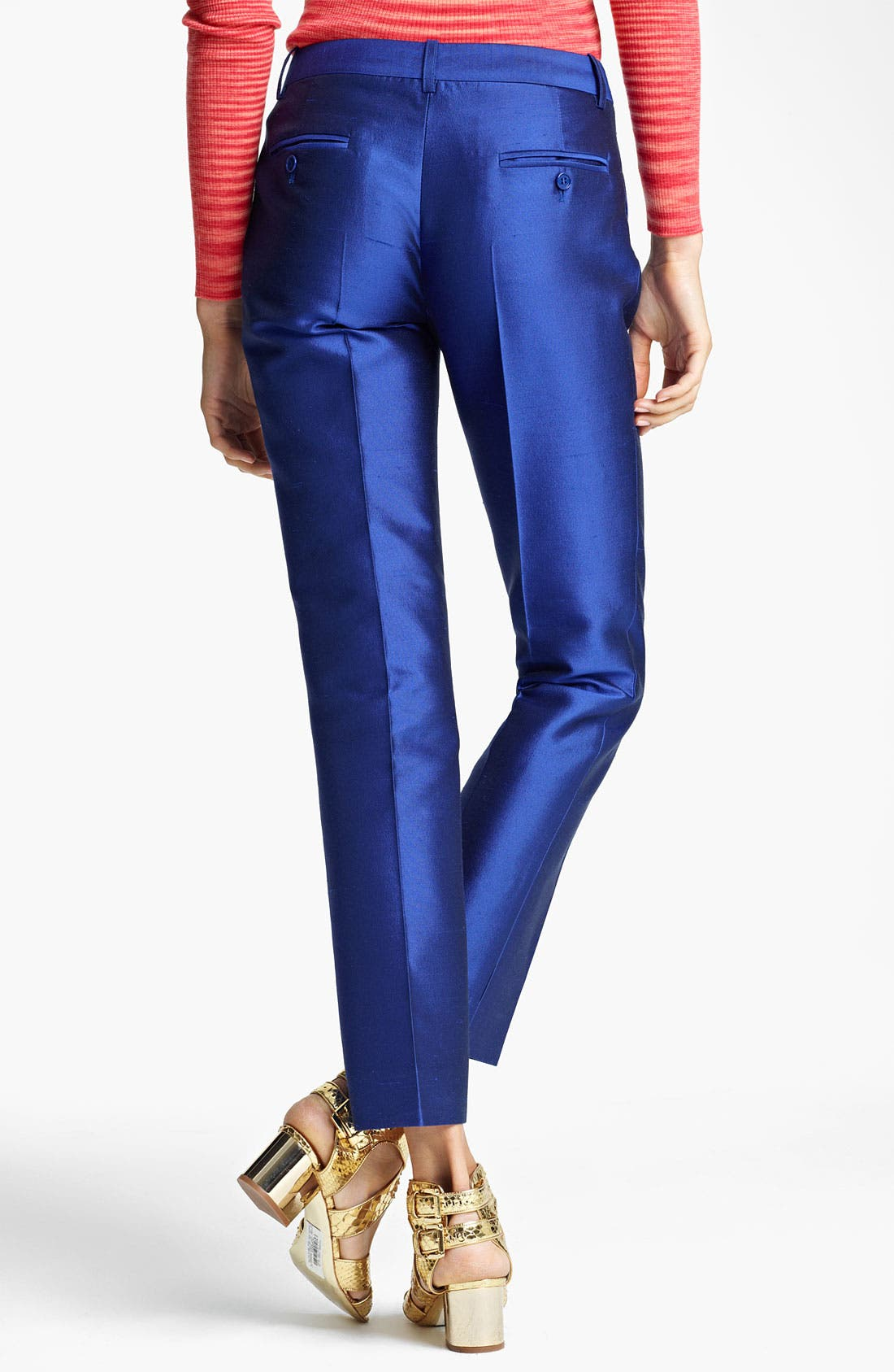 Alternate Image 2  - Michael Kors Shantung Pants