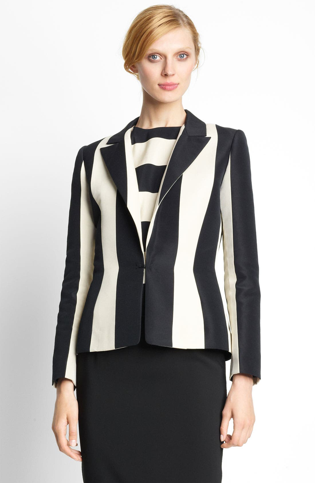 Alternate Image 1 Selected - Lanvin Stripe Blazer