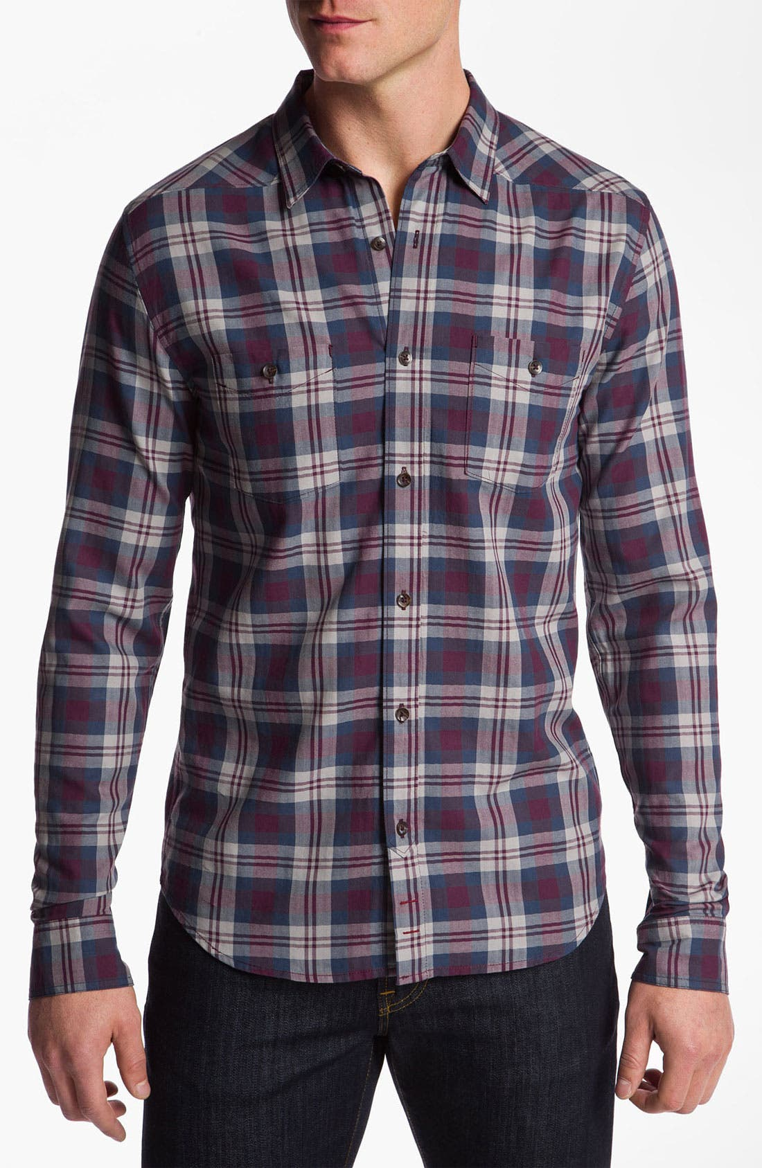Alternate Image 1 Selected - 7 For All Mankind® Woven Shirt