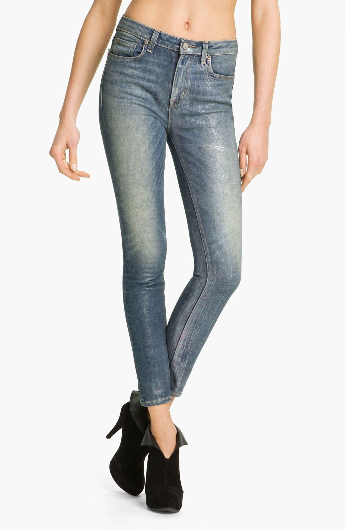 Main Image - MARC BY MARC JACOBS 'Sofie' Cigarette Jeans (Vintage Pearl)
