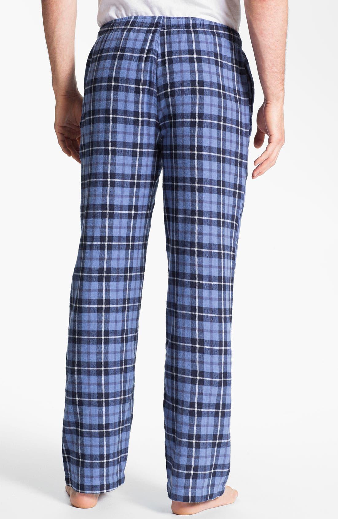 Alternate Image 2  - 1901 Flannel Sleep Pants
