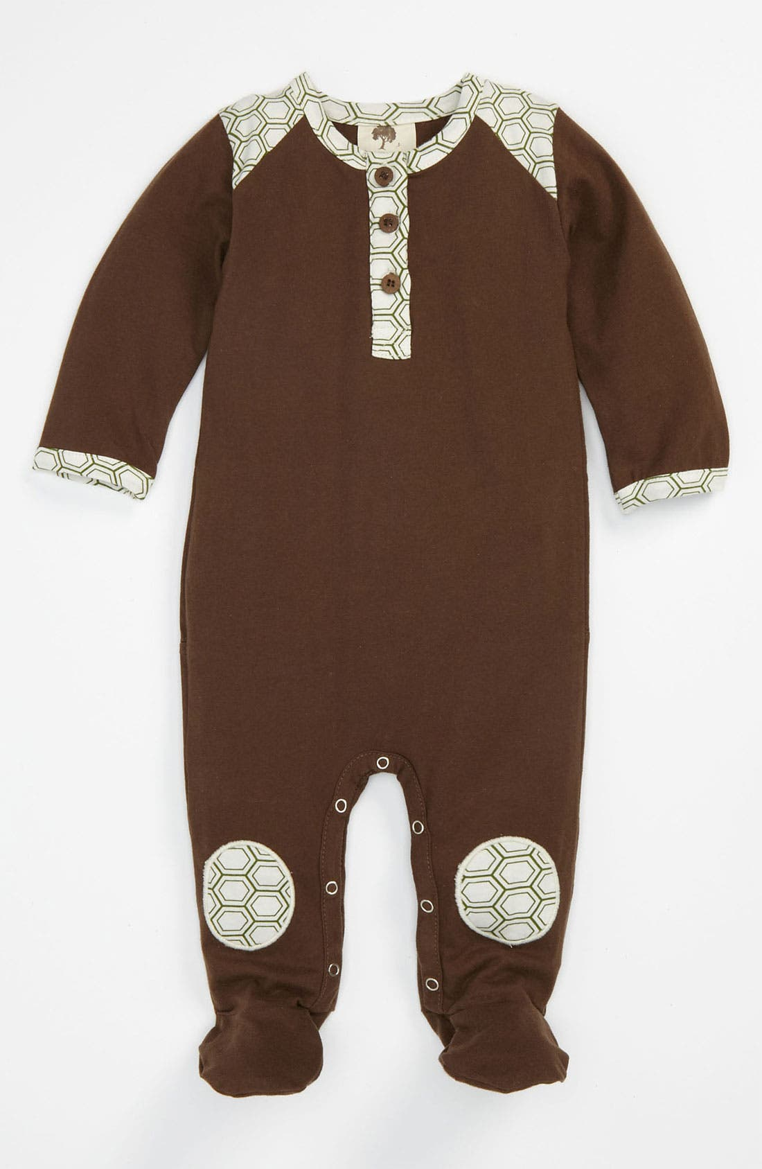Alternate Image 1 Selected - Kate Quinn Organics Footie (Infant)