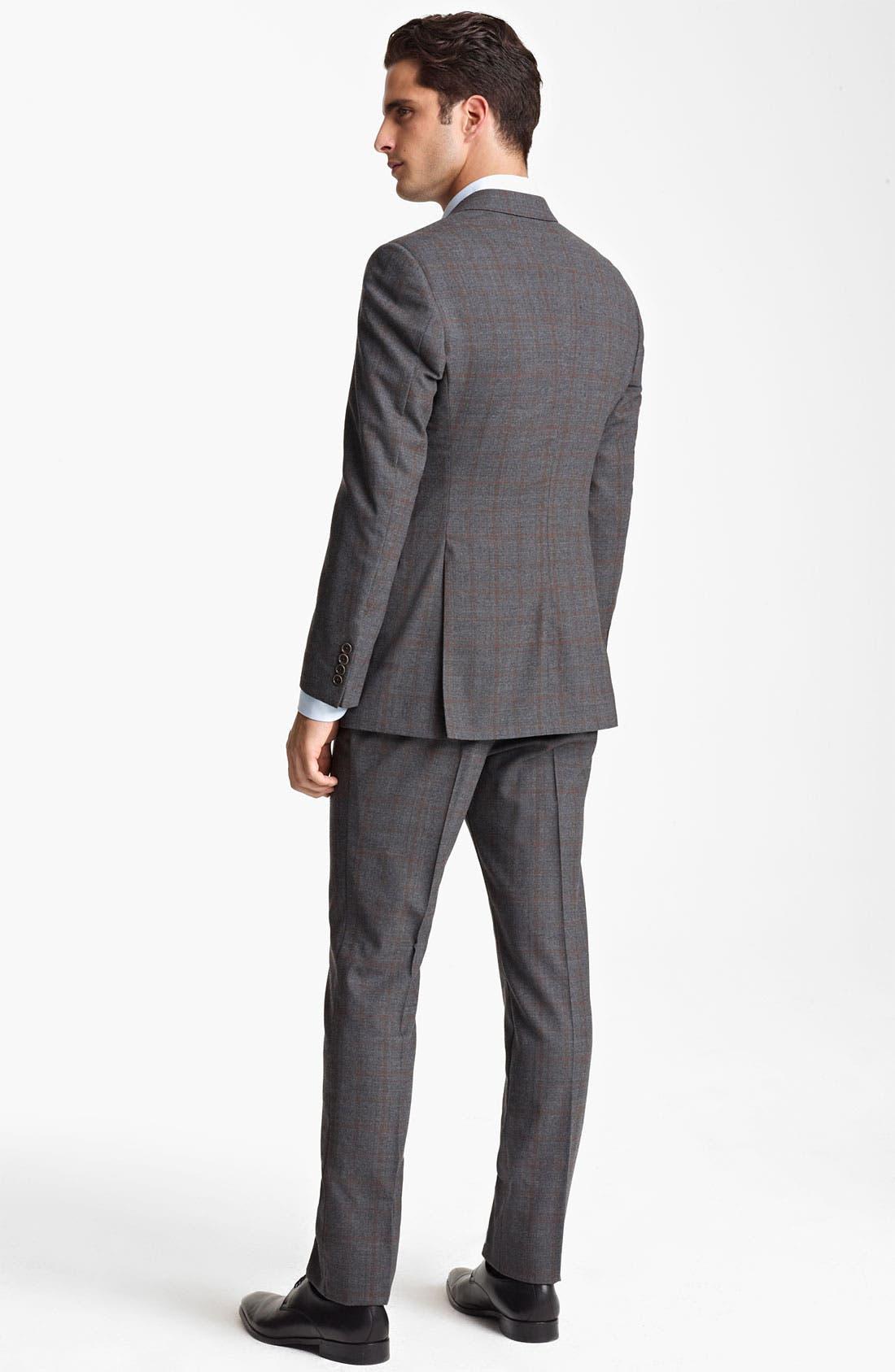 Alternate Image 3  - Armani Collezioni 'Giorgio' Trim Fit Suit