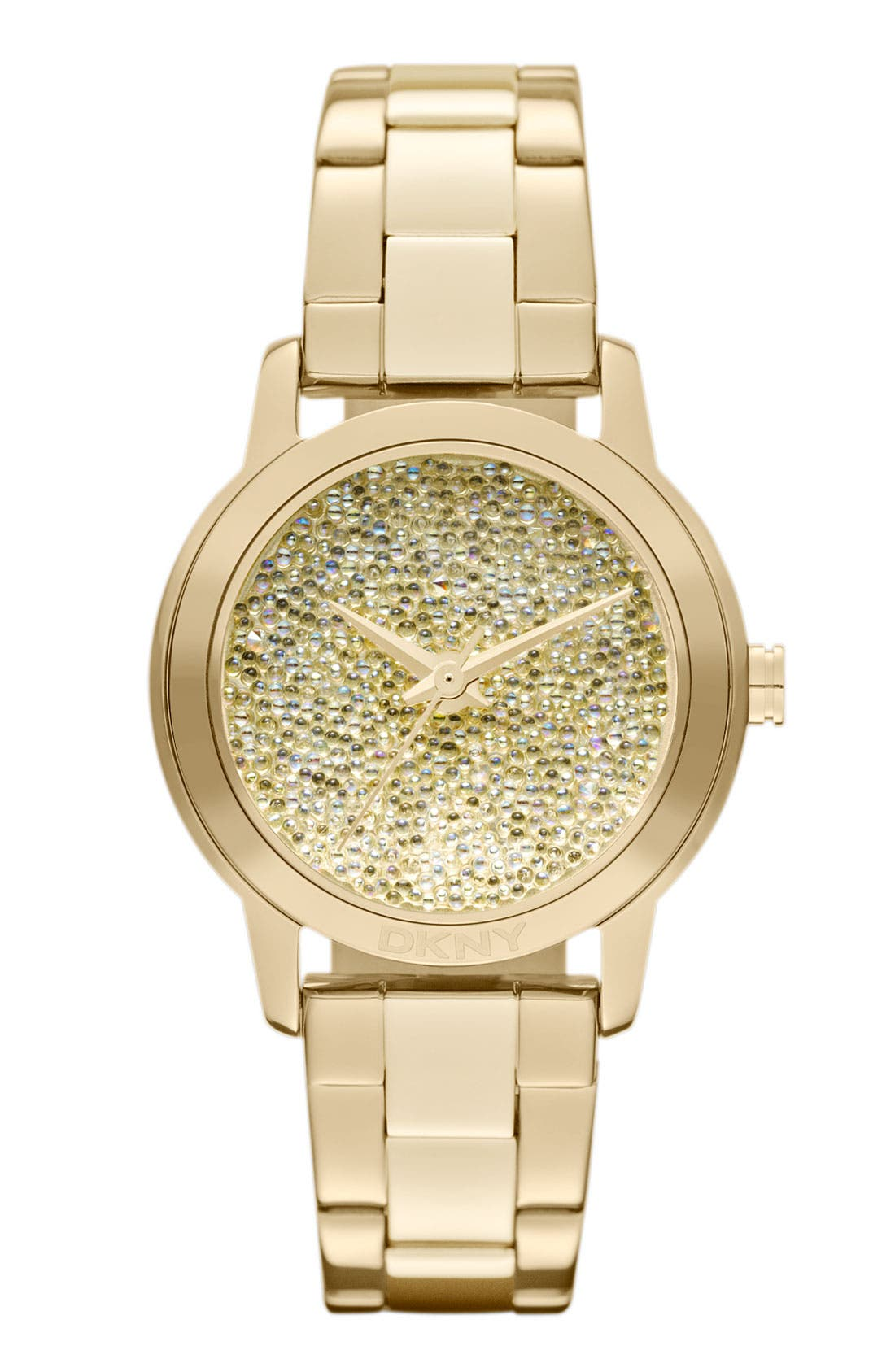 Main Image - DKNY Pebble Crystal Dial Watch, 32mm
