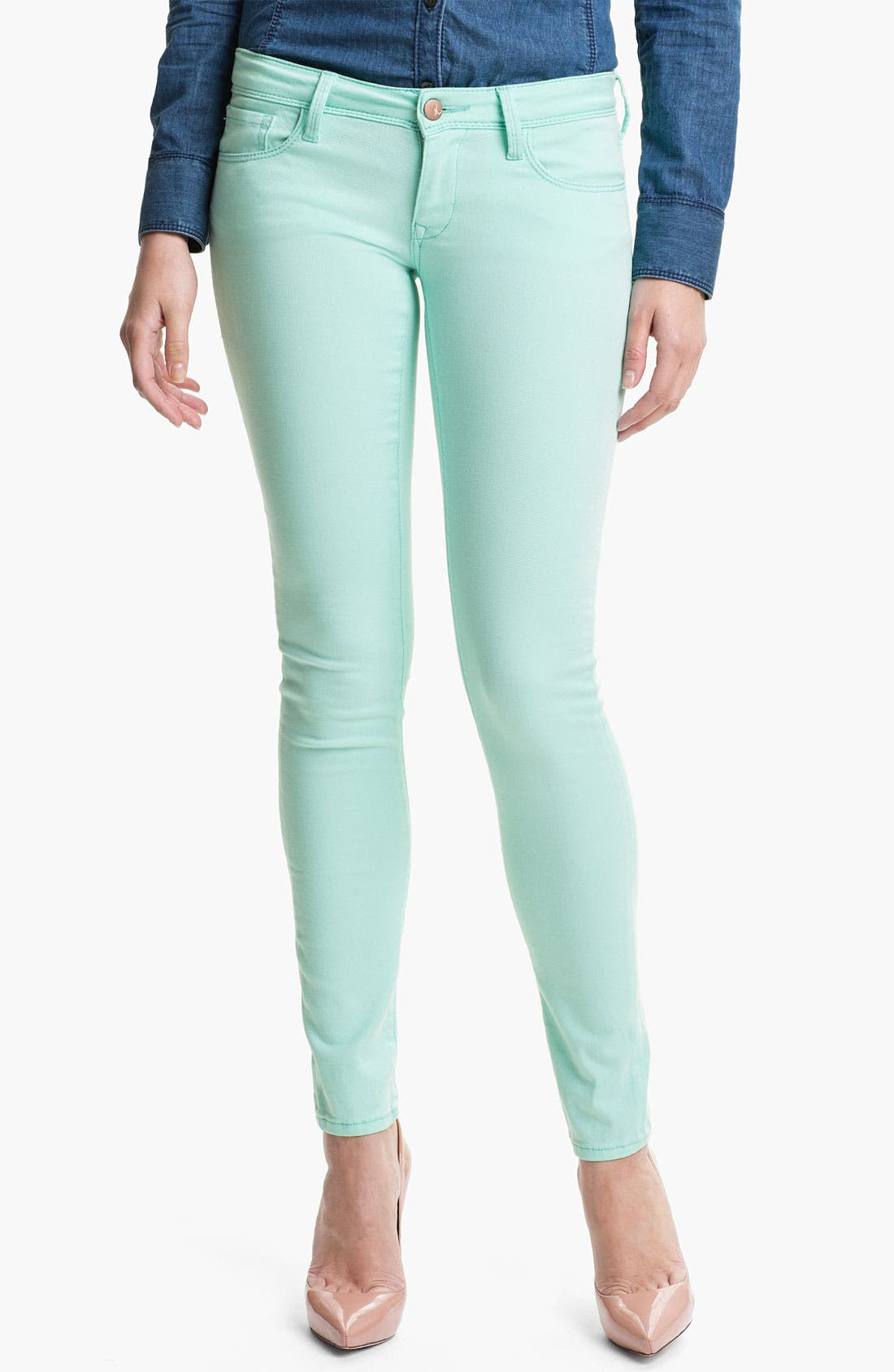 Main Image - Mavi Jeans 'Serena' Low Rise Super Skinny Jeans (Online Exclusive)