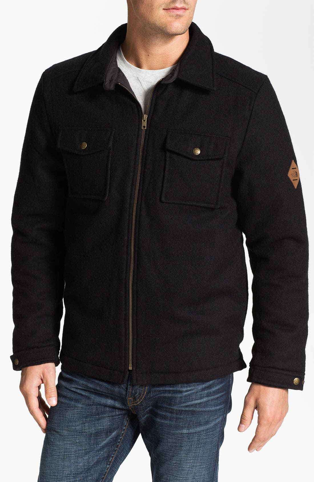 Alternate Image 1 Selected - The North Face 'North Country' Down Jacket
