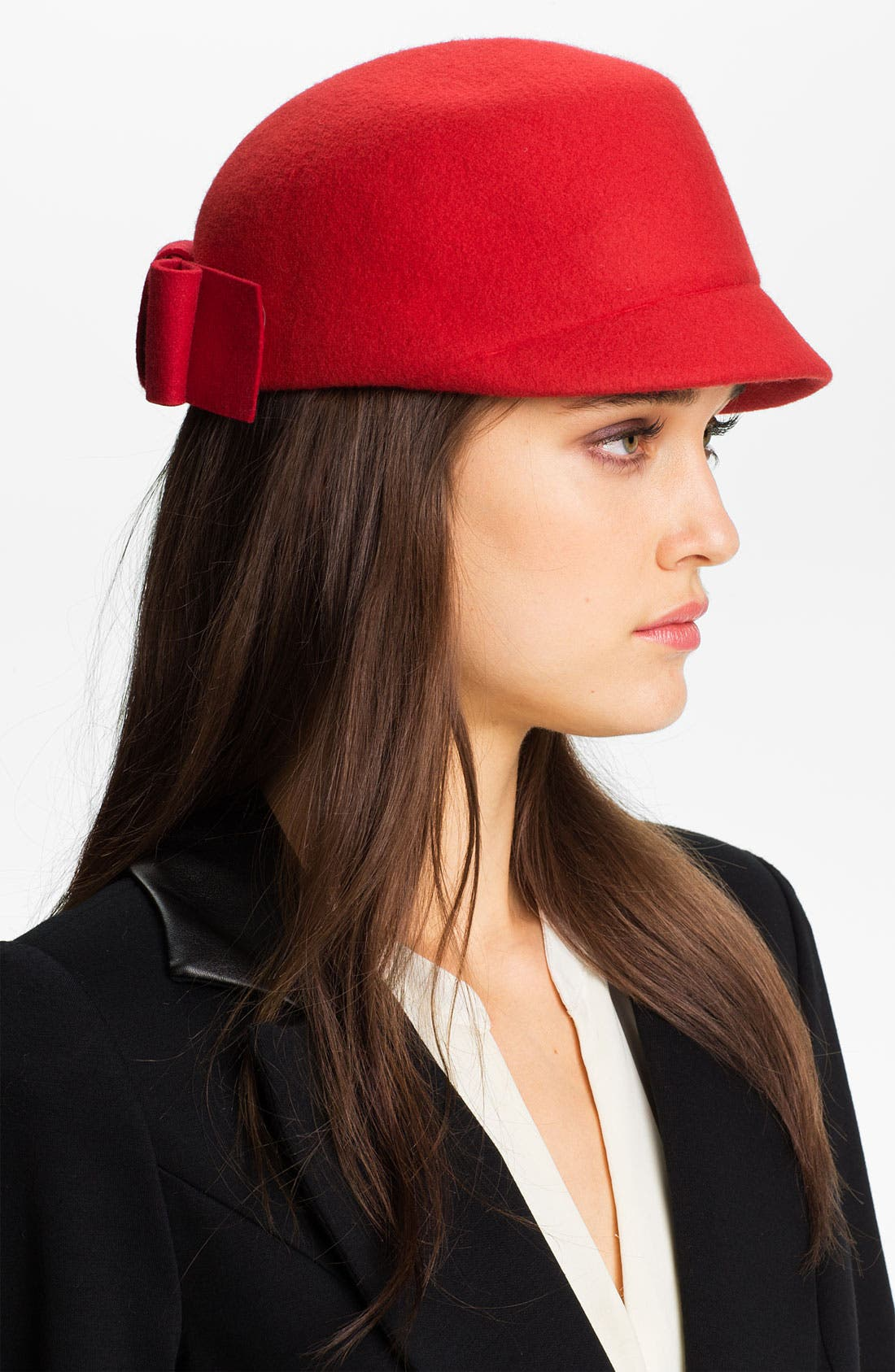 Alternate Image 1 Selected - kate spade new york wool cap