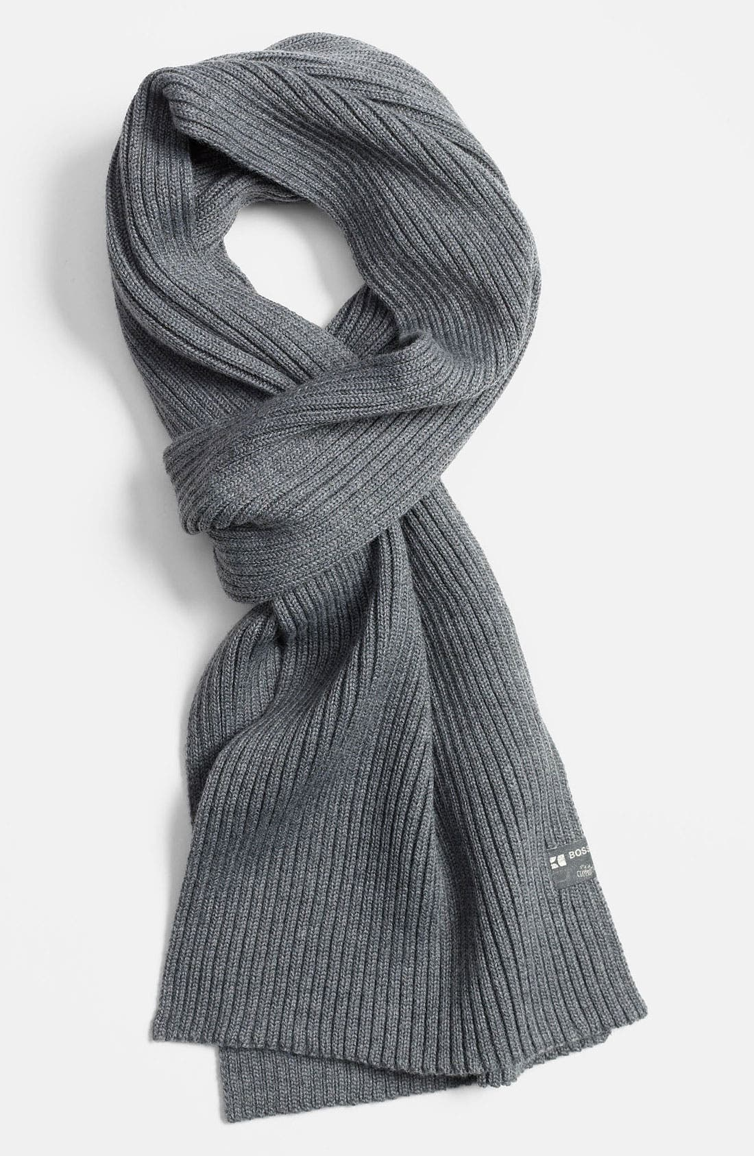 Main Image - BOSS Orange Wool Blend Scarf