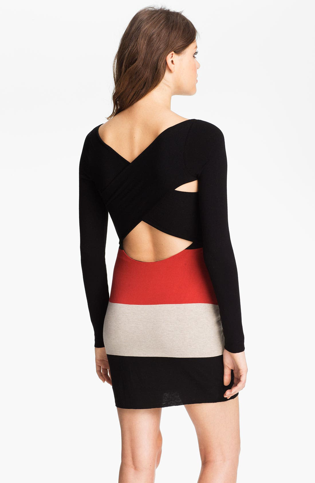 Alternate Image 2  - B44 Dressed by Bailey 44 Colorblock Cross Back Jersey Dress