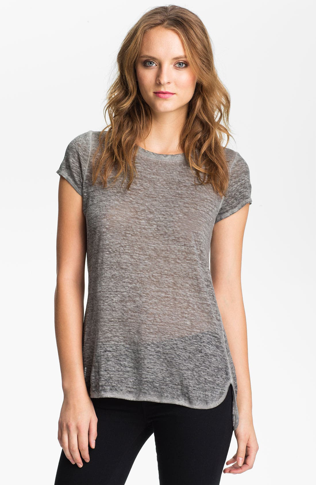 Alternate Image 1 Selected - Joie 'Russell' Slub Linen Tee